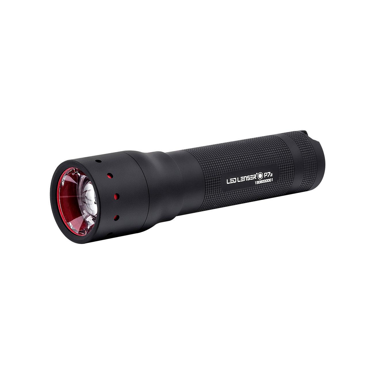 led lenser p7 2 taschenlampe schwarz 320 lumen kotte zeller. Black Bedroom Furniture Sets. Home Design Ideas
