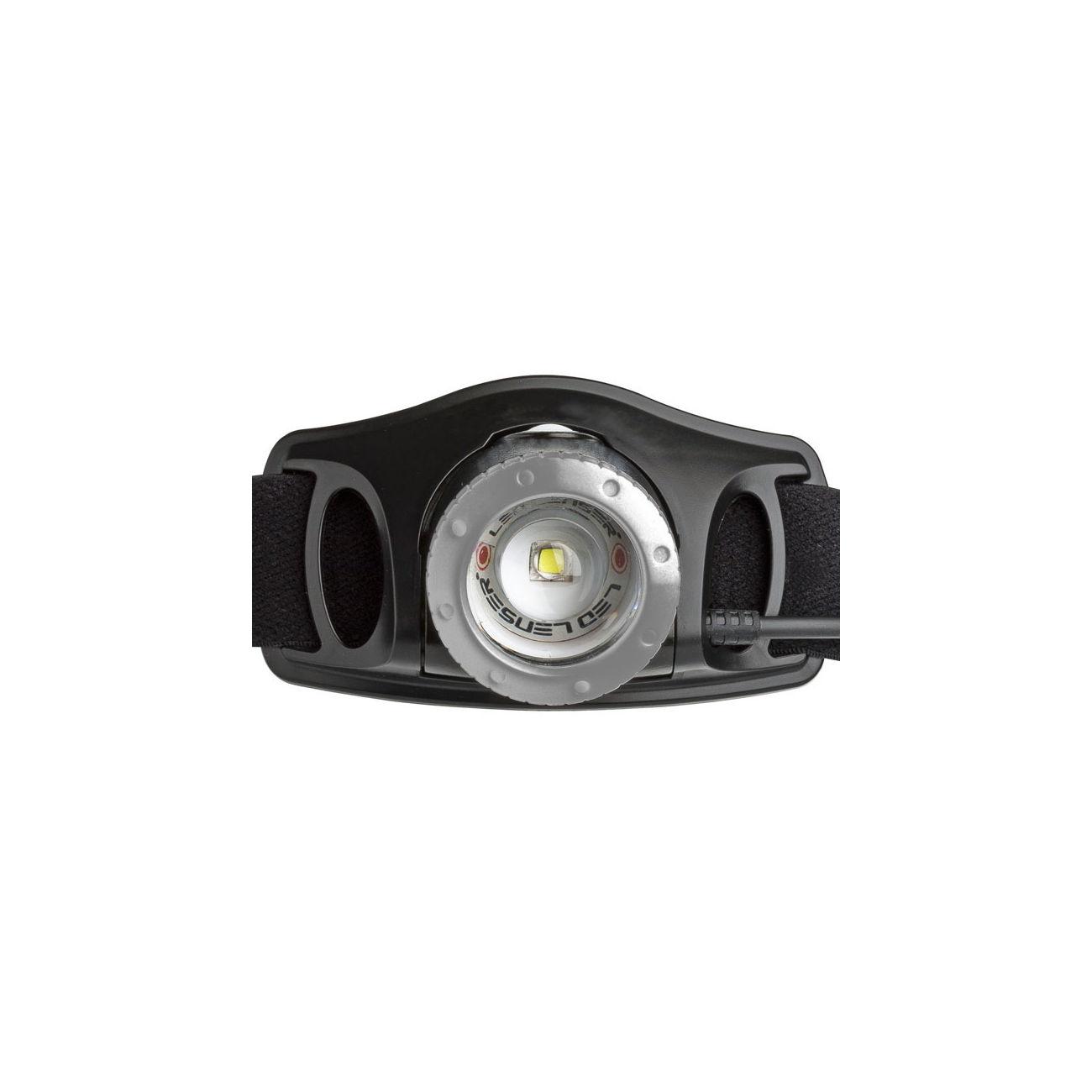 led lenser stirnlampe h7r 2 schwarz kotte zeller. Black Bedroom Furniture Sets. Home Design Ideas
