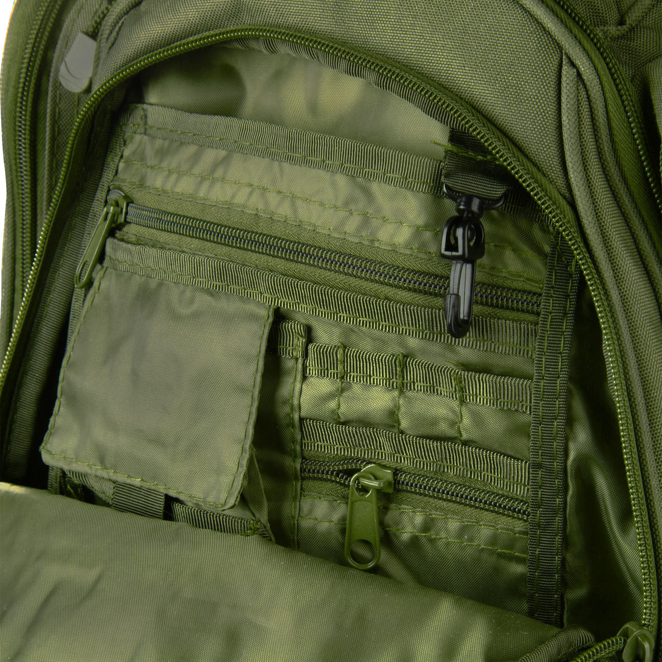 US Rucksack National Guard oliv 4