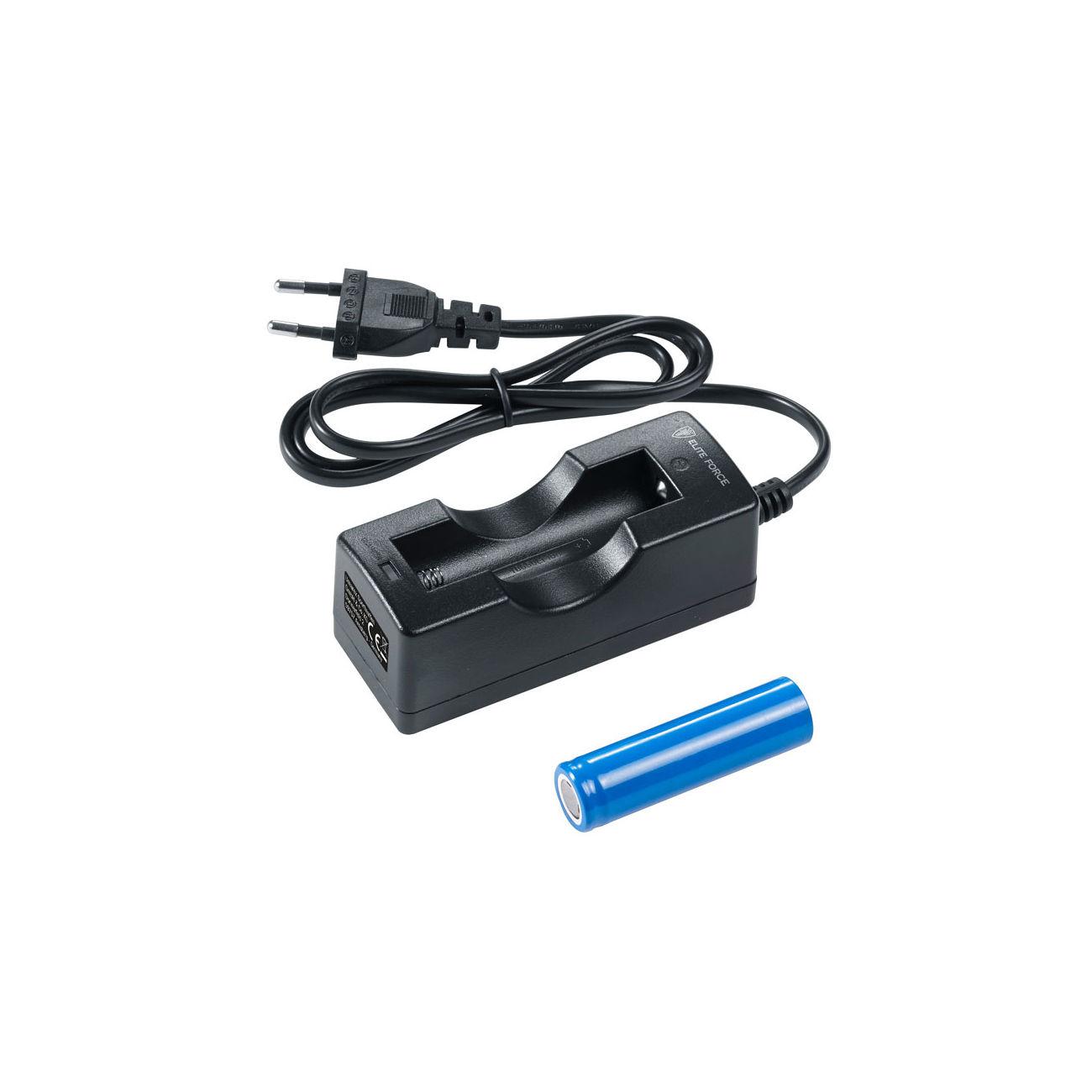 elite force charger kit f r rcr 123 batterien g nstig kaufen kotte zeller. Black Bedroom Furniture Sets. Home Design Ideas