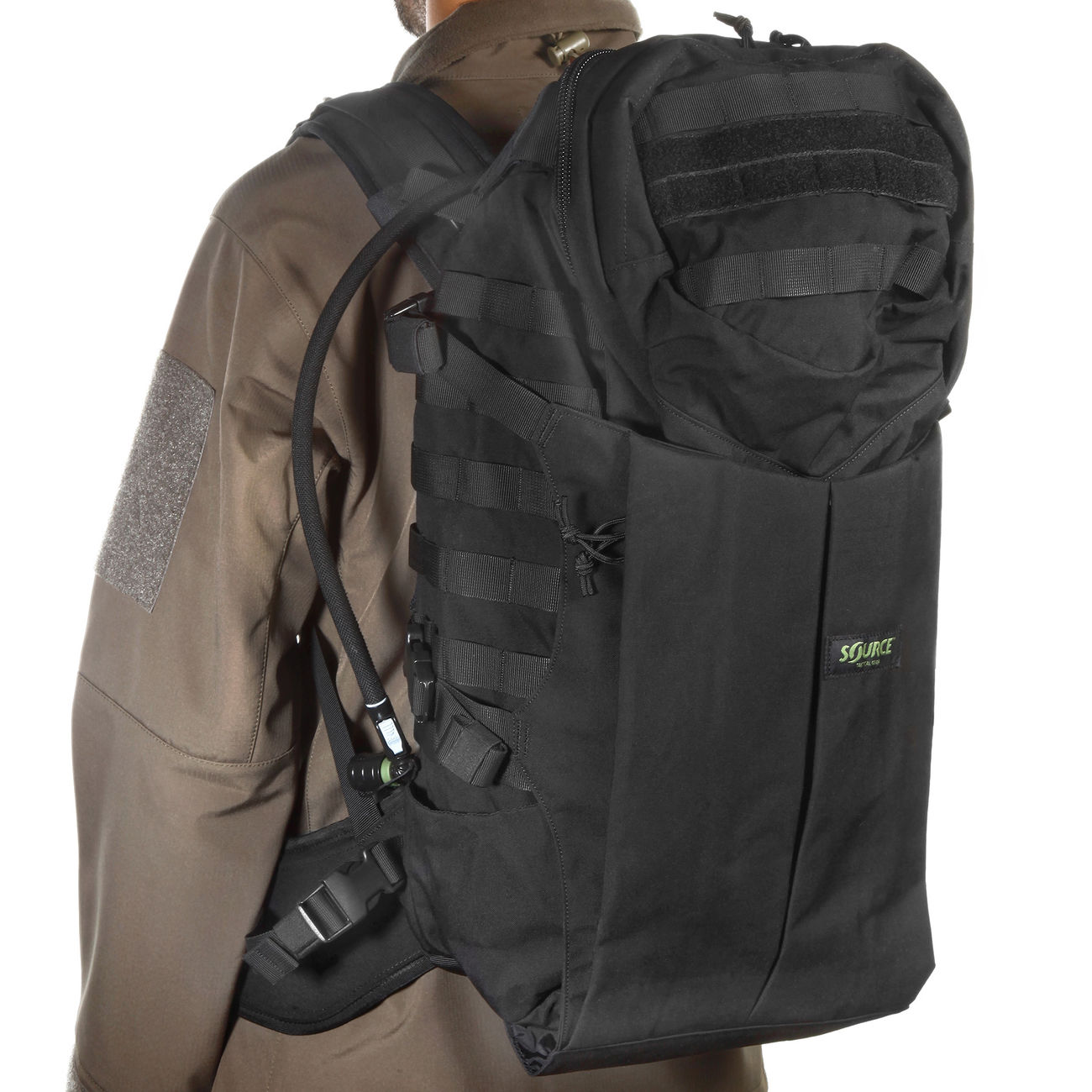 Source Tactical Gear Trinkrucksack Double D45 L schwarz 5