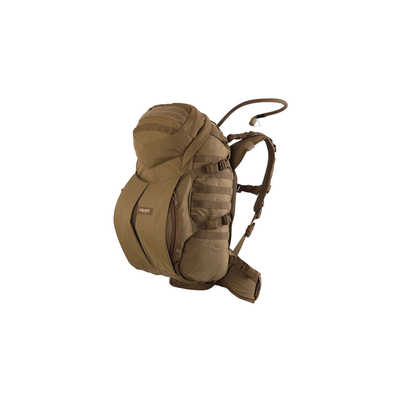 Source Tactical Gear Trinkrucksack Double D45 L coyote 0