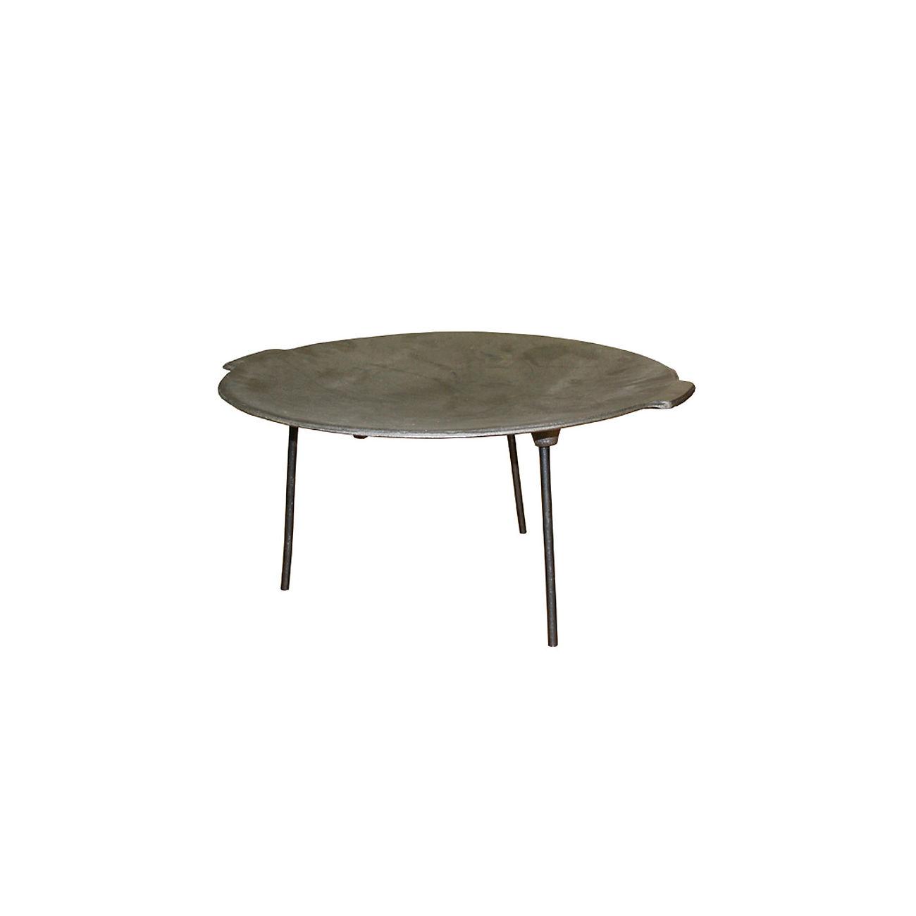 mmb ungarische paella pfanne aus gusseisen 48 cm kotte zeller. Black Bedroom Furniture Sets. Home Design Ideas