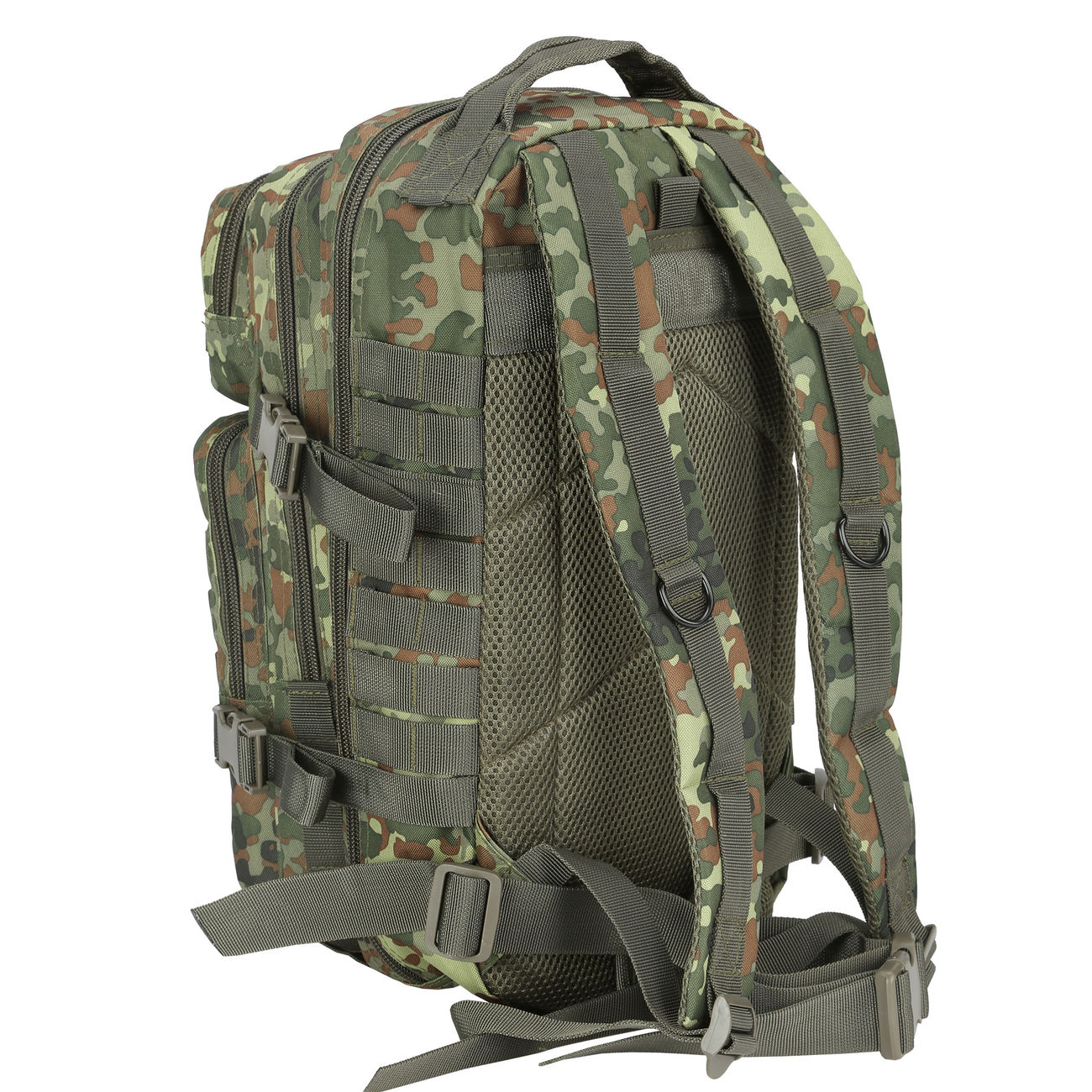 MFH Rucksack US Assault flecktarn 3