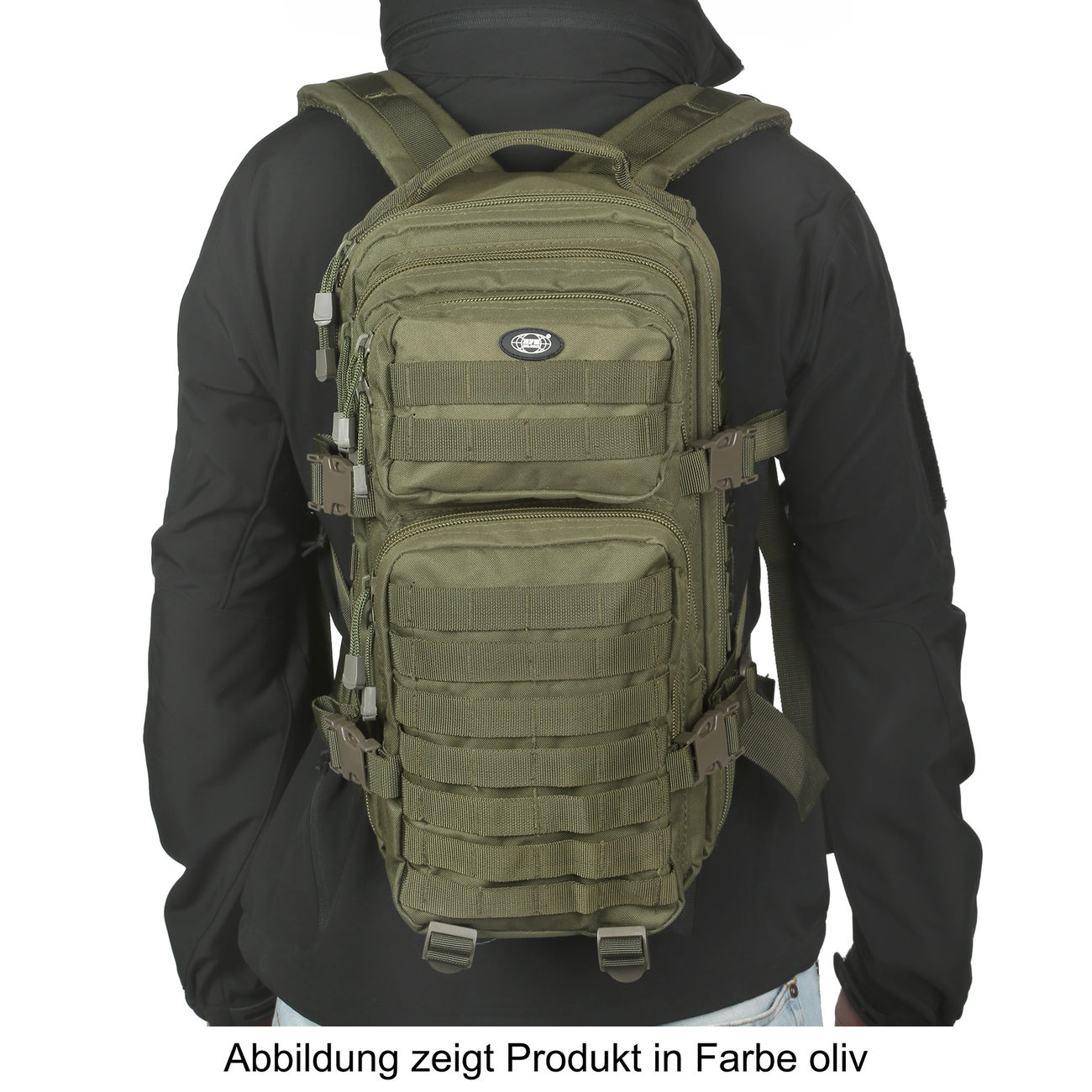 MFH Rucksack US Assault flecktarn 4