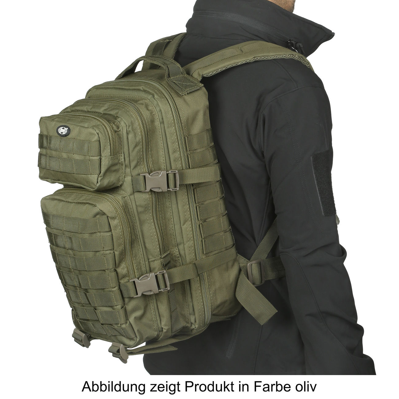 MFH Rucksack US Assault flecktarn 5