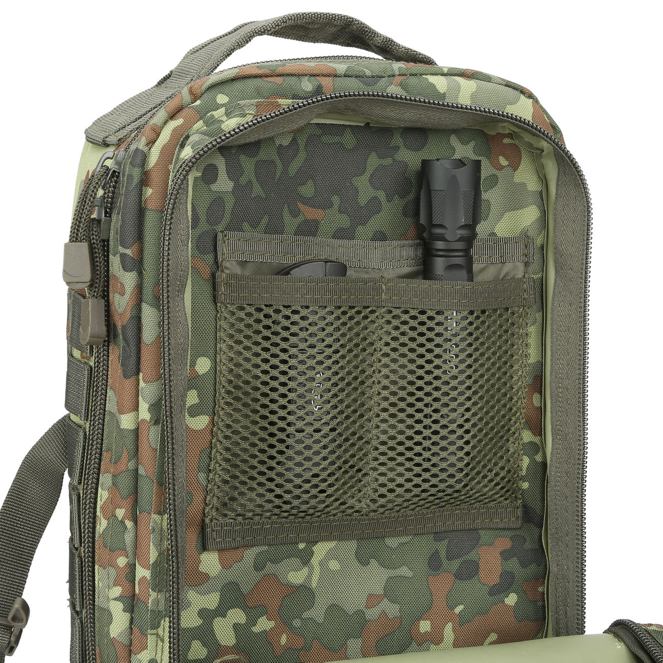MFH Rucksack US Assault flecktarn 8