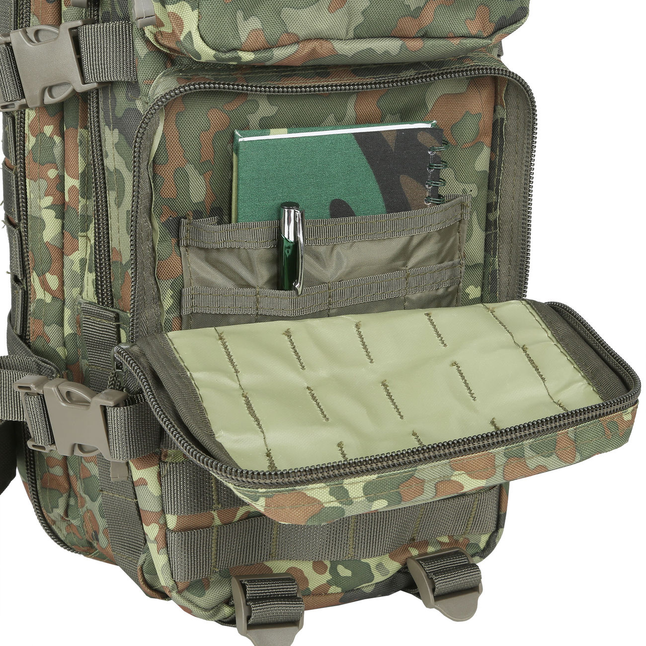 MFH Rucksack US Assault flecktarn 9