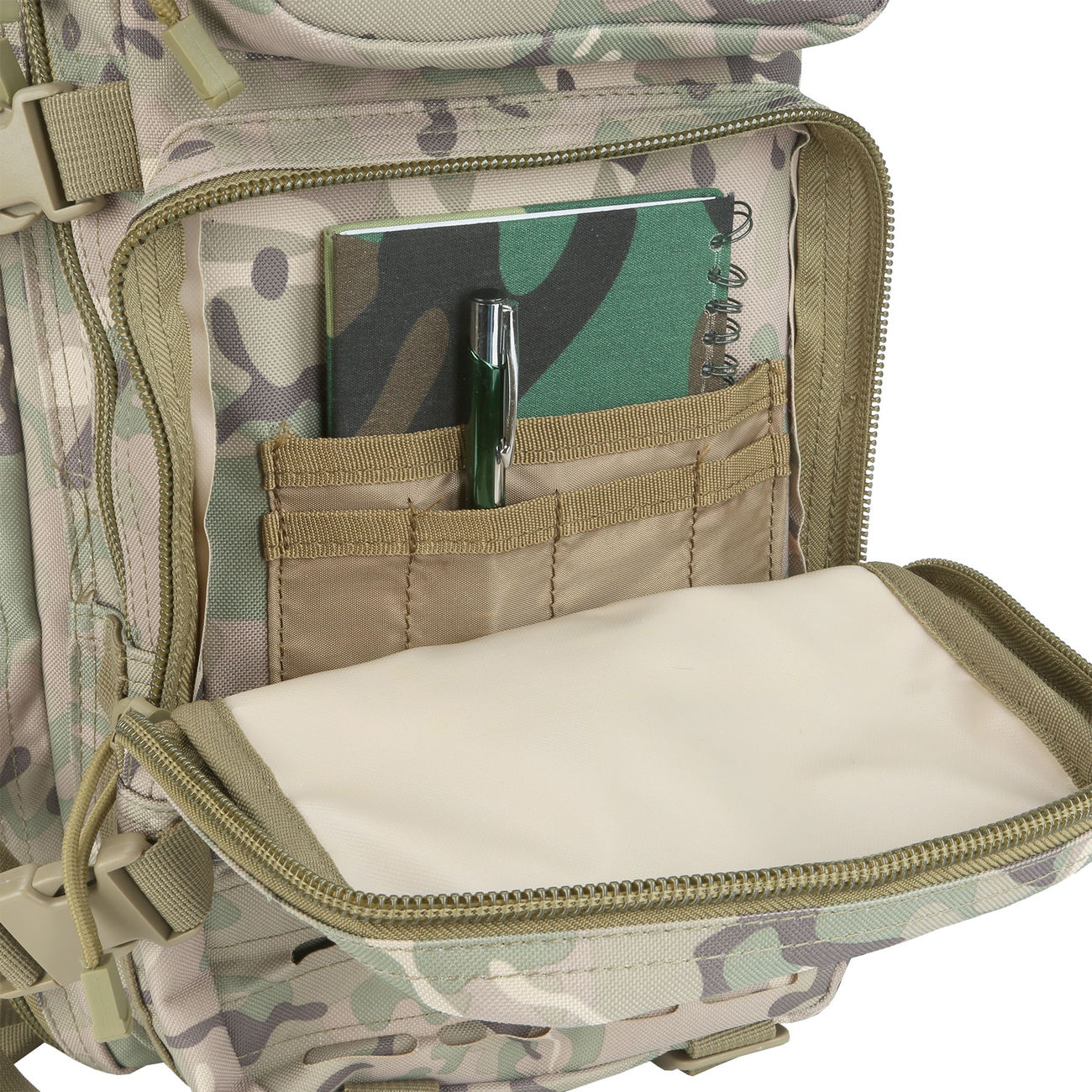 MFH Rucksack US Assault I Laser 30L operation-camo 10