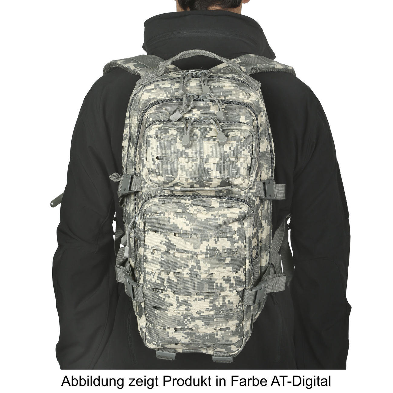 MFH Rucksack US Assault I Laser 30L operation-camo 4