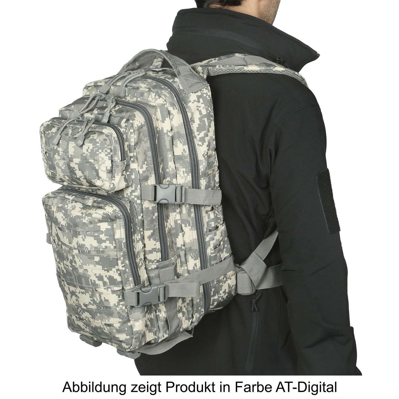 MFH Rucksack US Assault I Laser 30L operation-camo 5