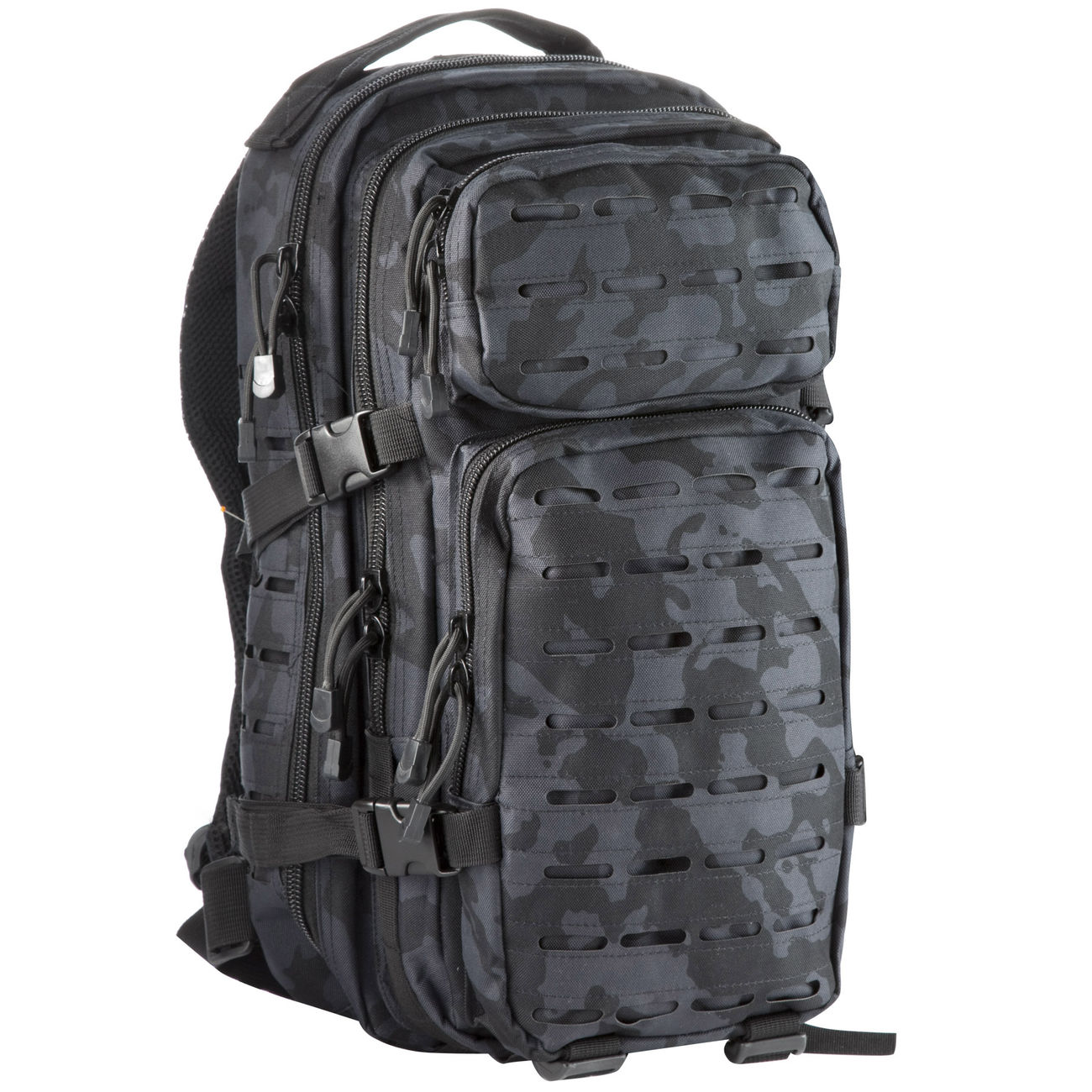 MFH Rucksack US Assault I Laser 30L night camo 0