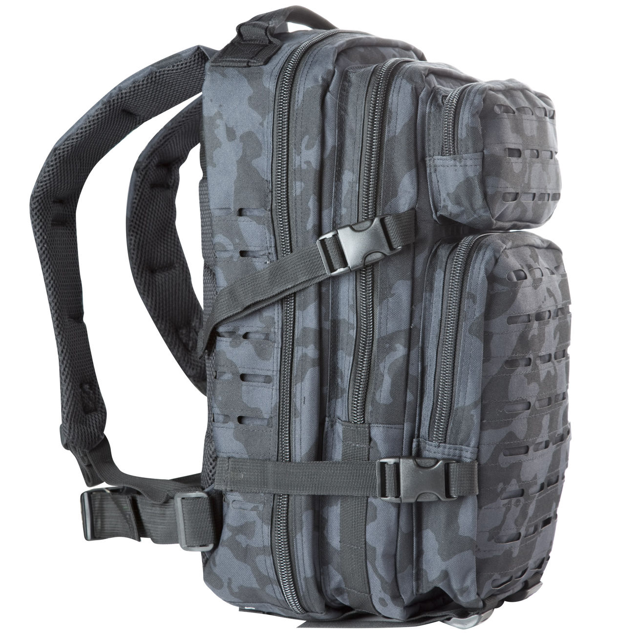 MFH Rucksack US Assault I Laser 30L night camo 1
