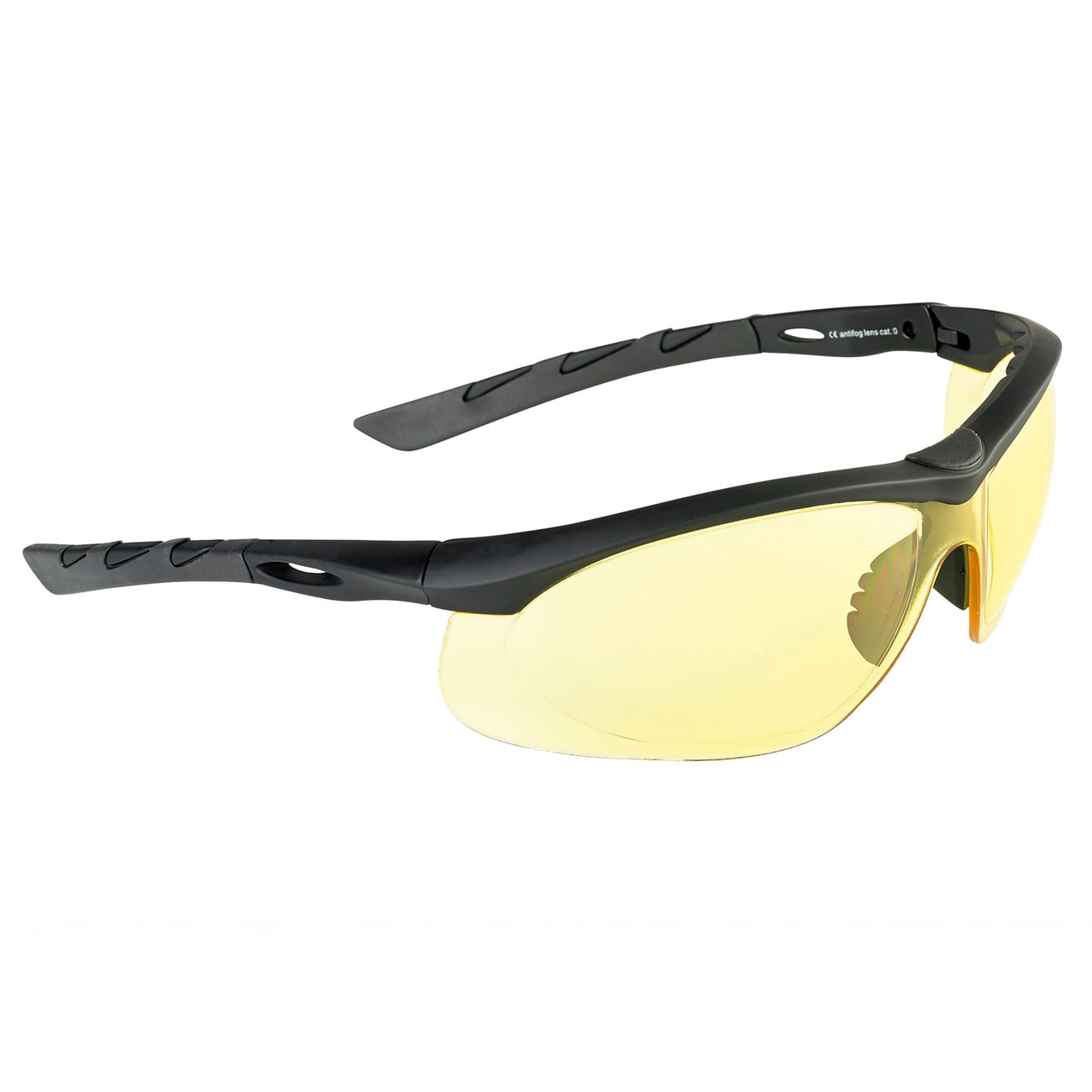 Swiss Eye Schutzbrille Lancer rubber black/yellow 0