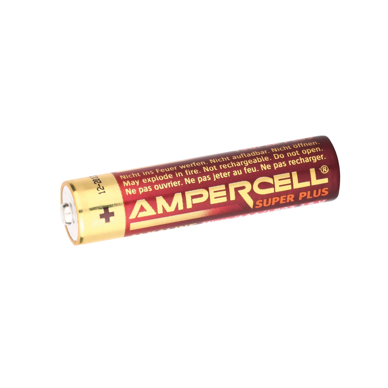 Ampercell Batterien Super Plus Micro AAA/LR03 1,5V