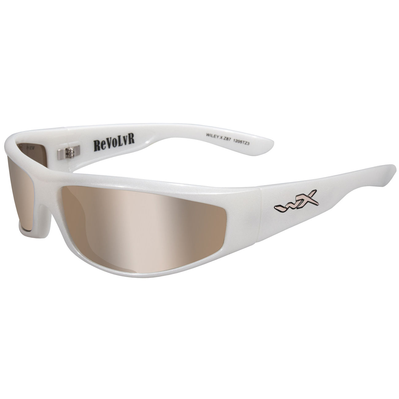 Wiley X Brile WX RevolvR Pearl White/Silver Flash 0