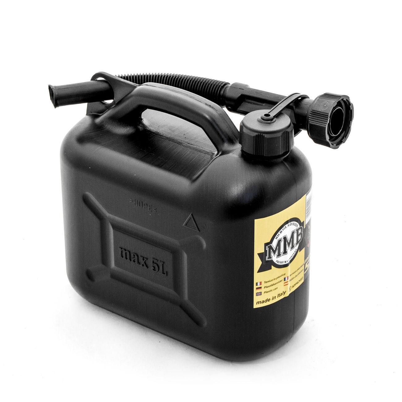 mmb benzinkanister kunststoff 5 liter schwarz kotte zeller. Black Bedroom Furniture Sets. Home Design Ideas