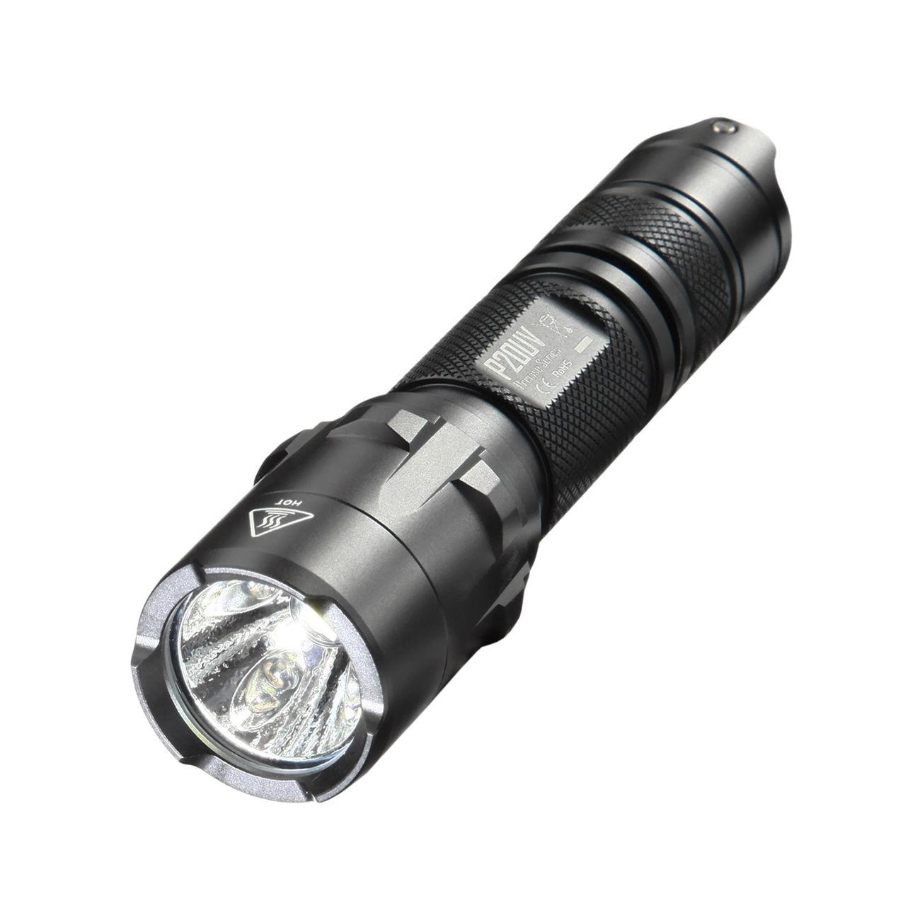nitecore led lampe p20uv 800 lumen mit uv funktion schwarz kotte zeller. Black Bedroom Furniture Sets. Home Design Ideas