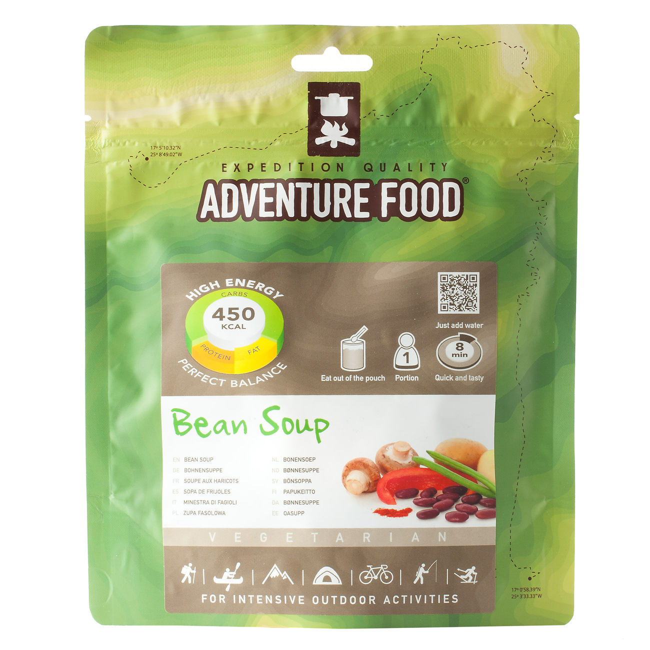 Adventure Food Braune Bohnensuppe Einzelportion 0