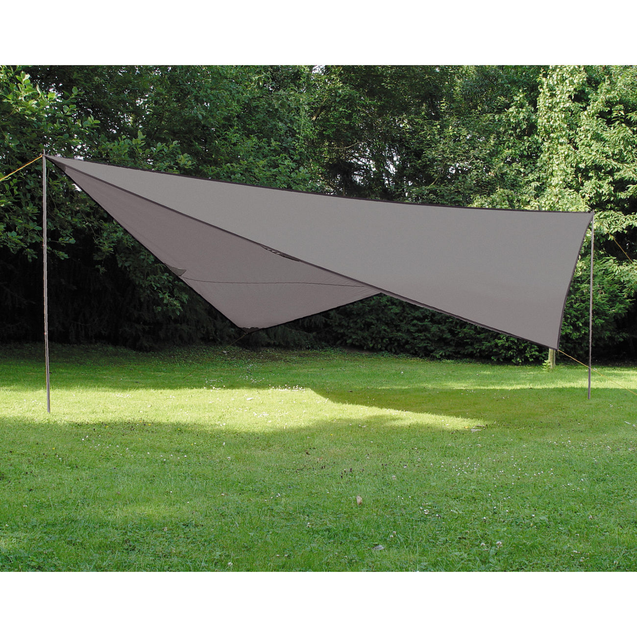High Peak Sonnensegel Tarp 2 4x4m grau 0