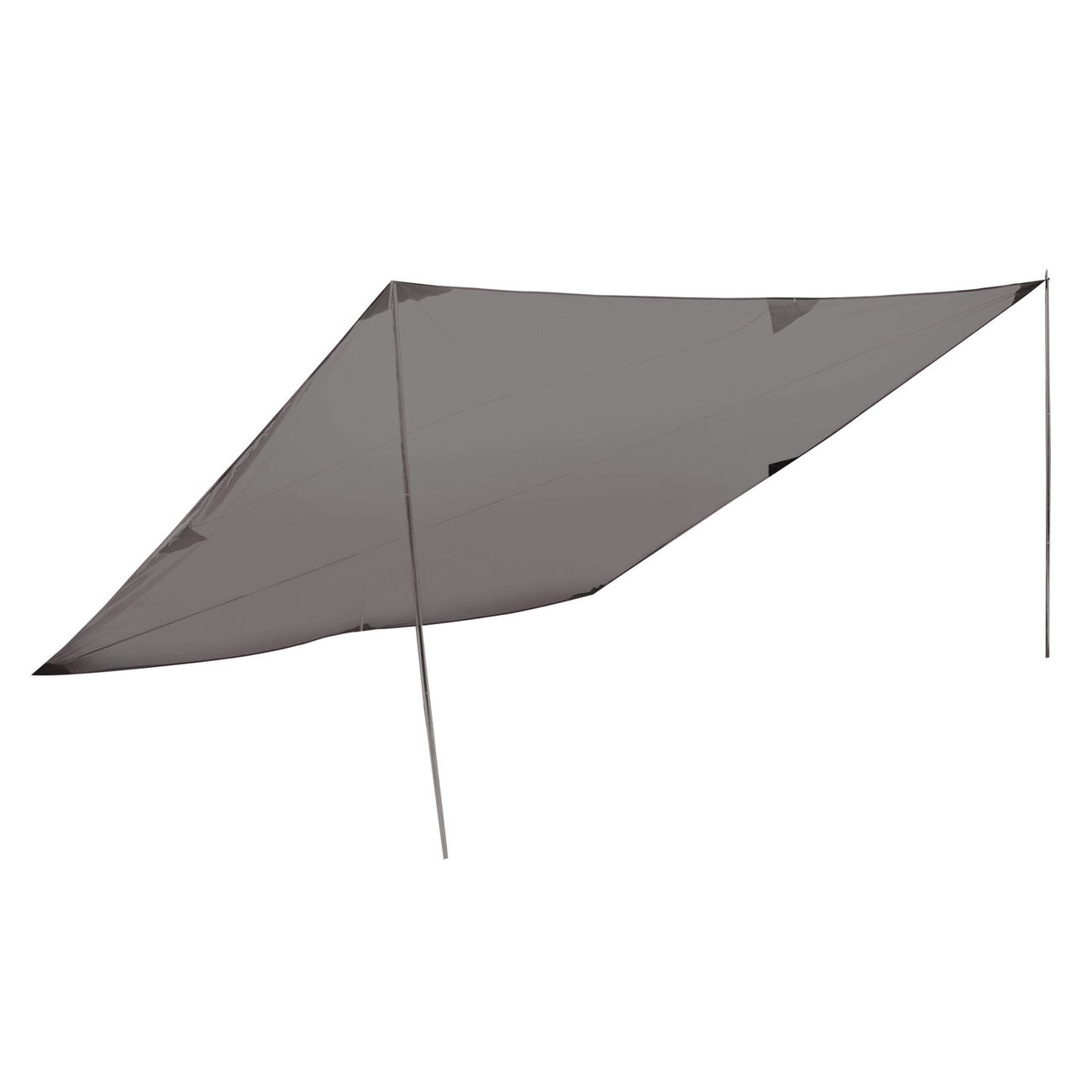 High Peak Sonnensegel Tarp 2 4x4m grau 1