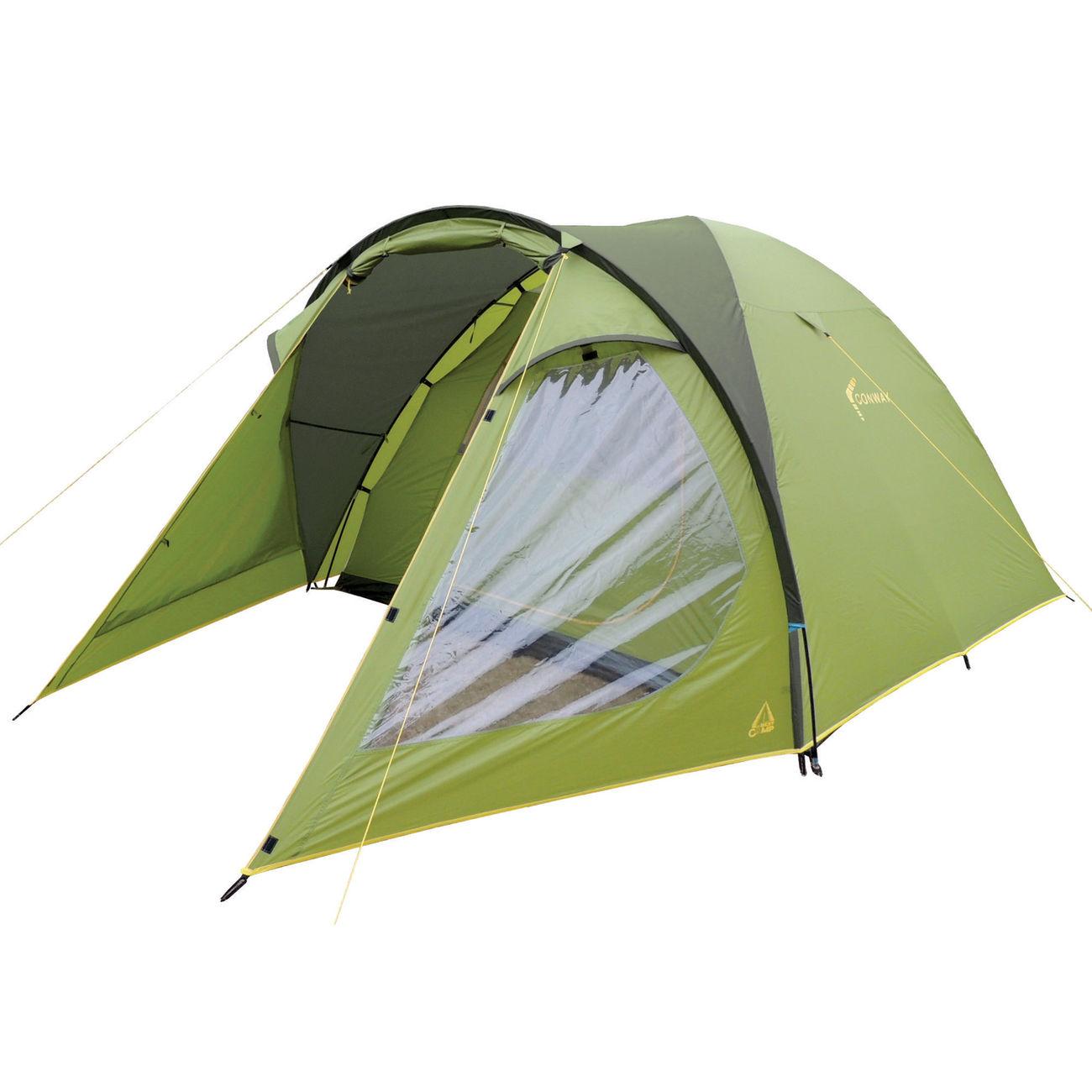 best camp zelt conway 4 f r 4 personen gr n dunkelgr n. Black Bedroom Furniture Sets. Home Design Ideas