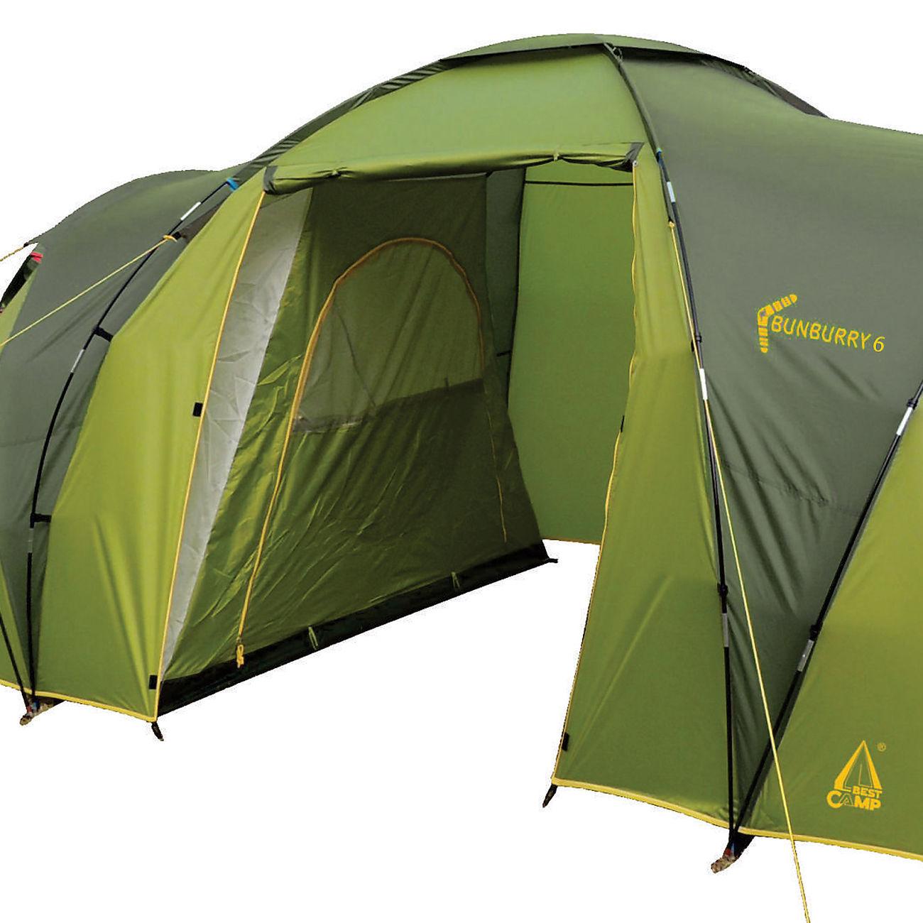 Bunburry 6 Zelt : Best camp familienzelt gruppenzelt bunburry für personen