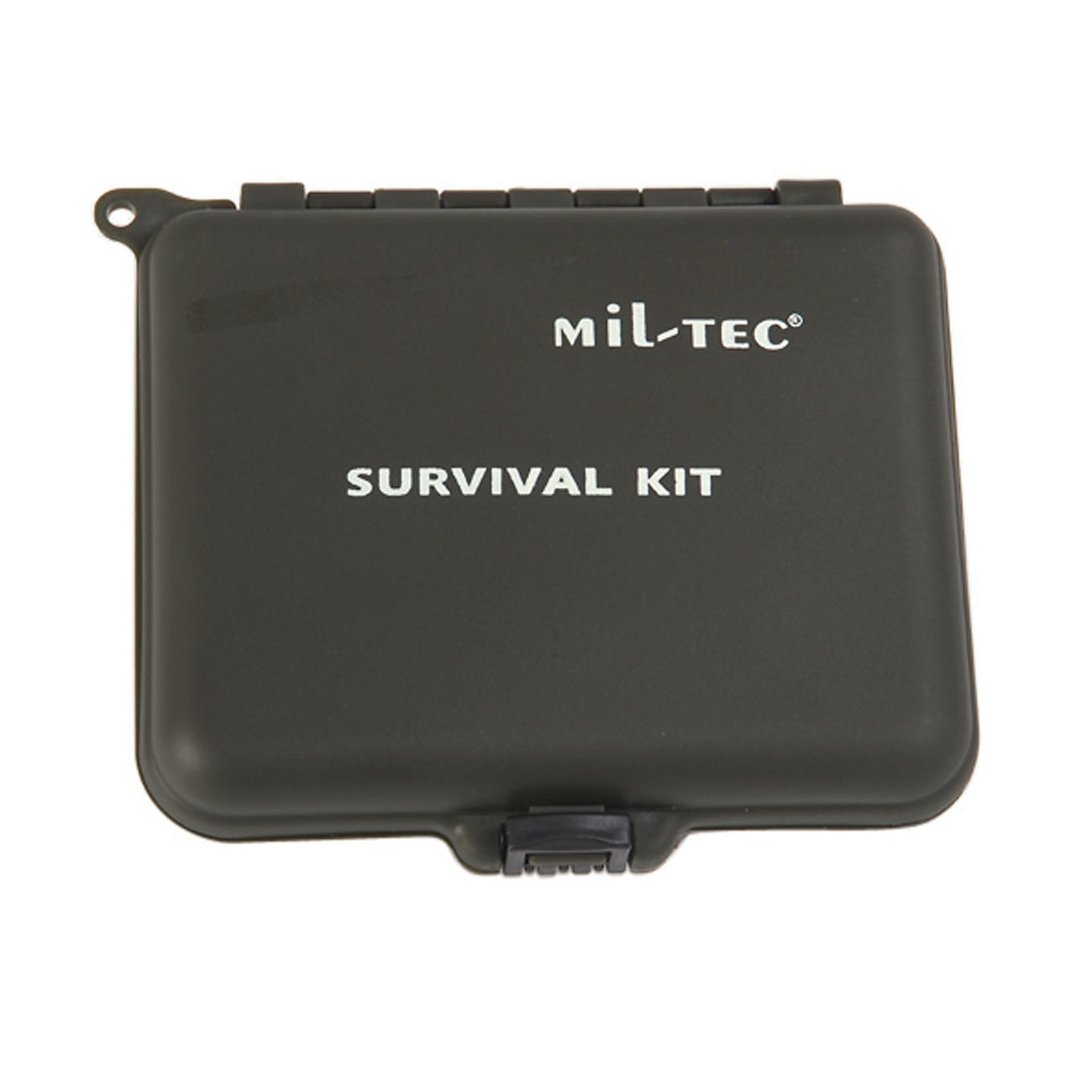 Mil-Tec Survival Kit mit Kunststoffbox oliv 1