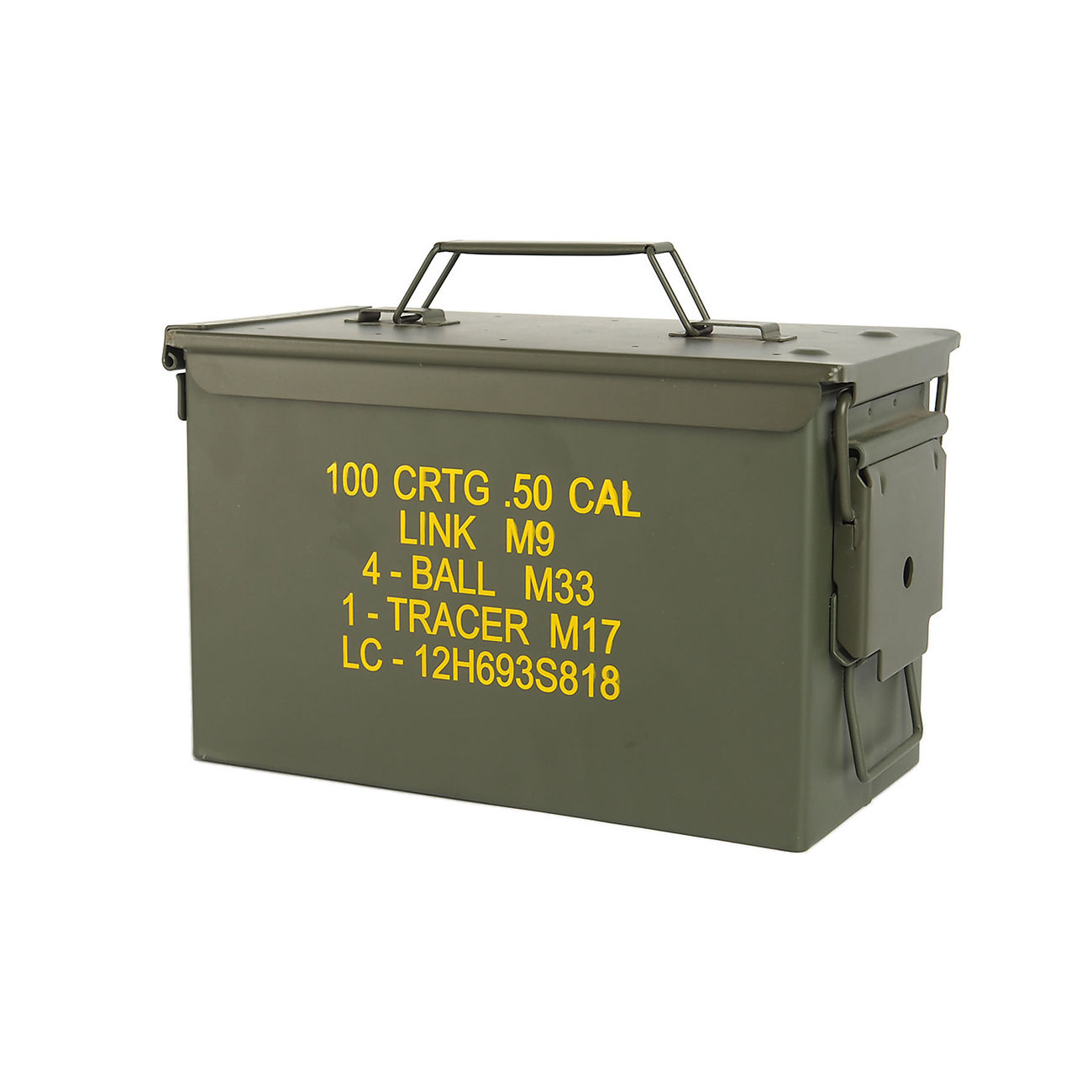Mil-Tec Munitionskiste US Ammo Box Steel M2A1 cal. 50 0