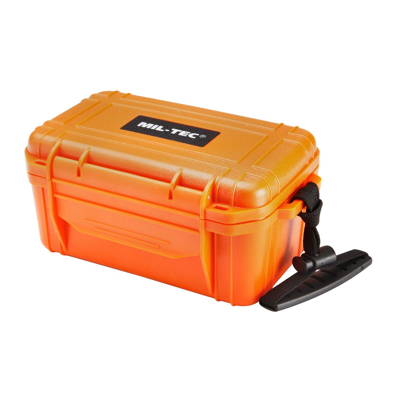 mil tec erste hilfe box camping first aid kit wasserdicht orange kotte zeller. Black Bedroom Furniture Sets. Home Design Ideas