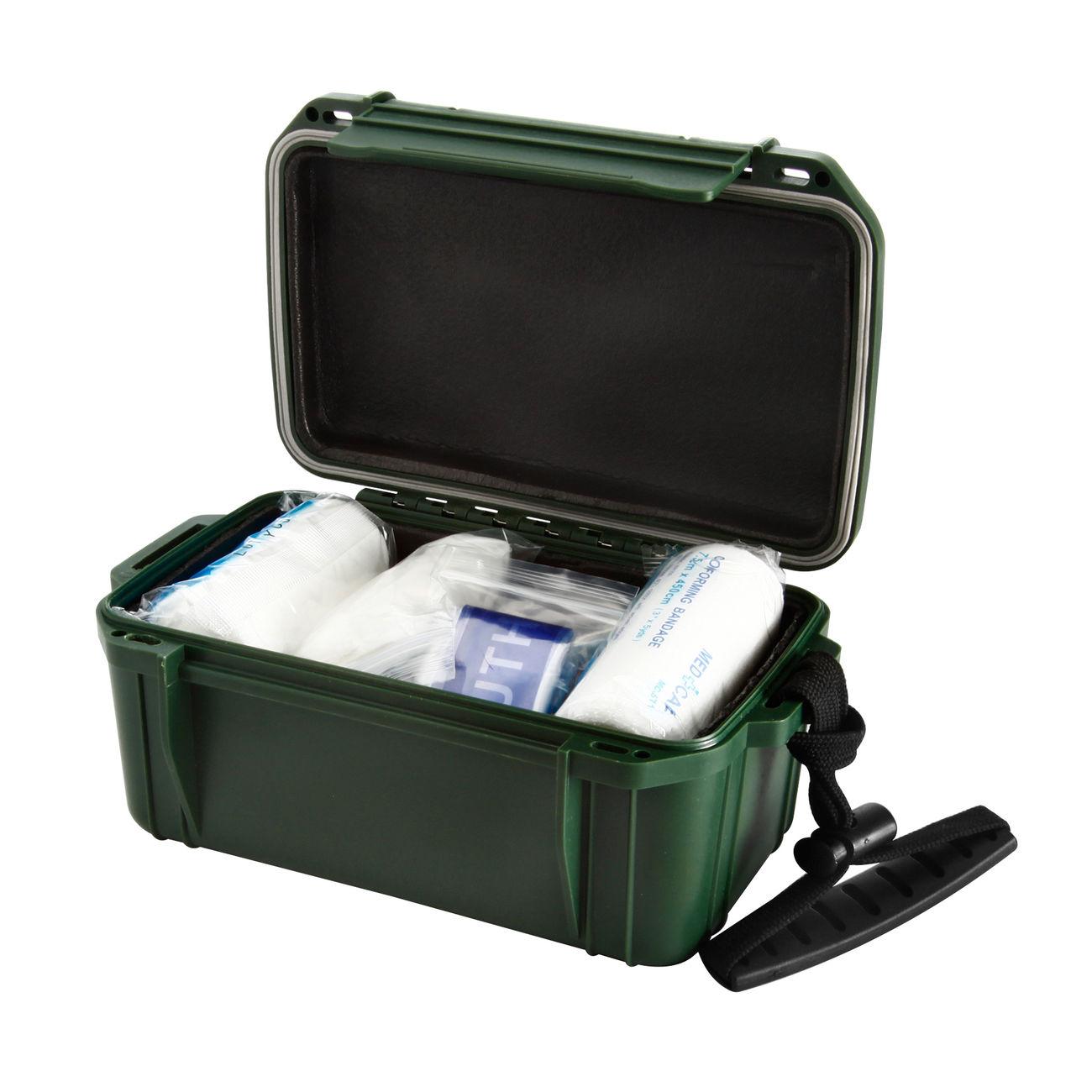 mil tec erste hilfe box camping first aid kit wasserdicht oliv g nstig kaufen kotte zeller. Black Bedroom Furniture Sets. Home Design Ideas