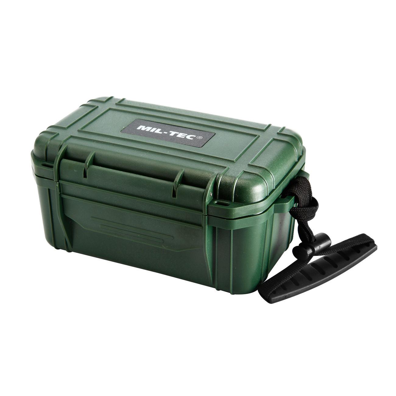 mil tec erste hilfe box camping first aid kit wasserdicht oliv kotte zeller. Black Bedroom Furniture Sets. Home Design Ideas