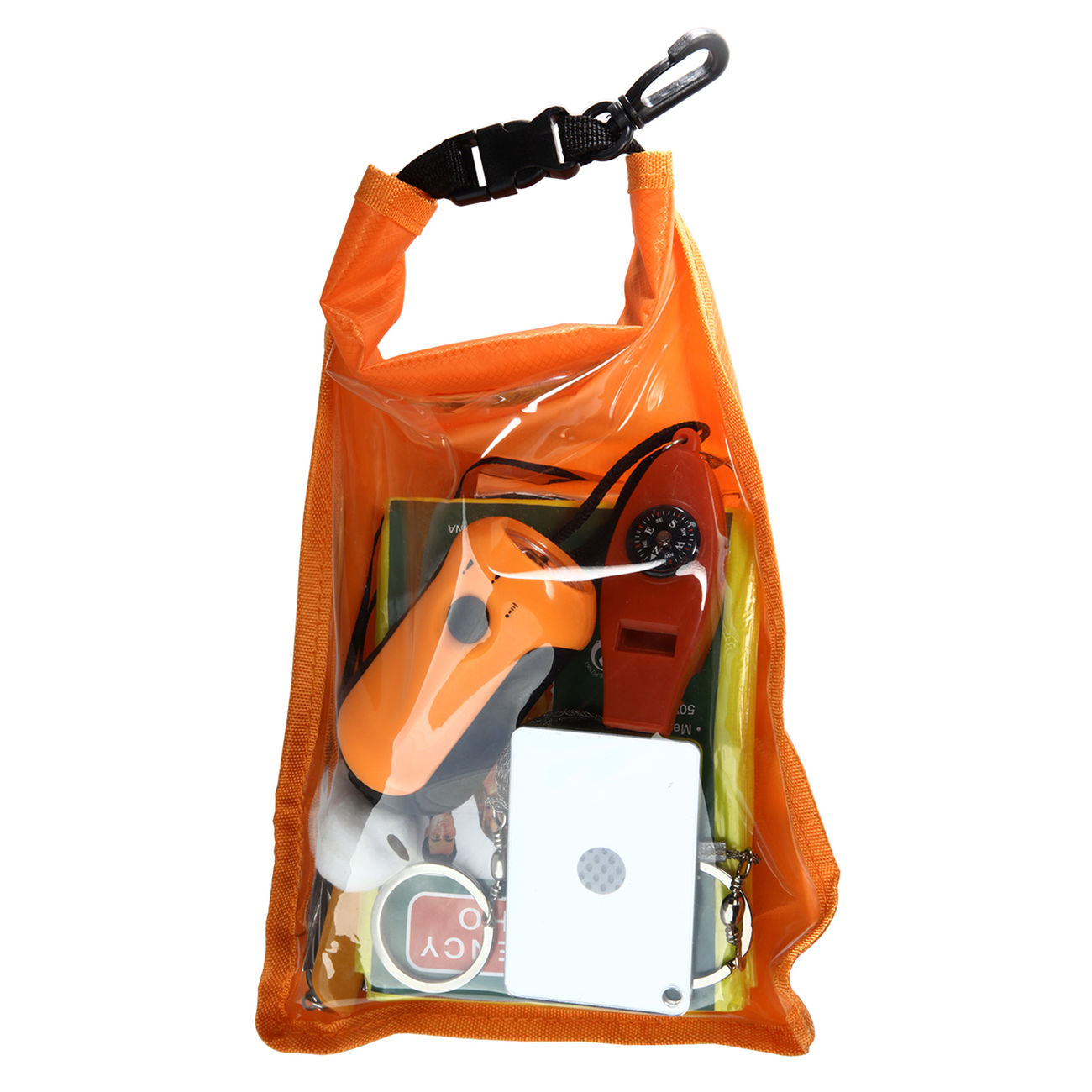Mil-Tec Outdoor-Survival-Pack large orange 4
