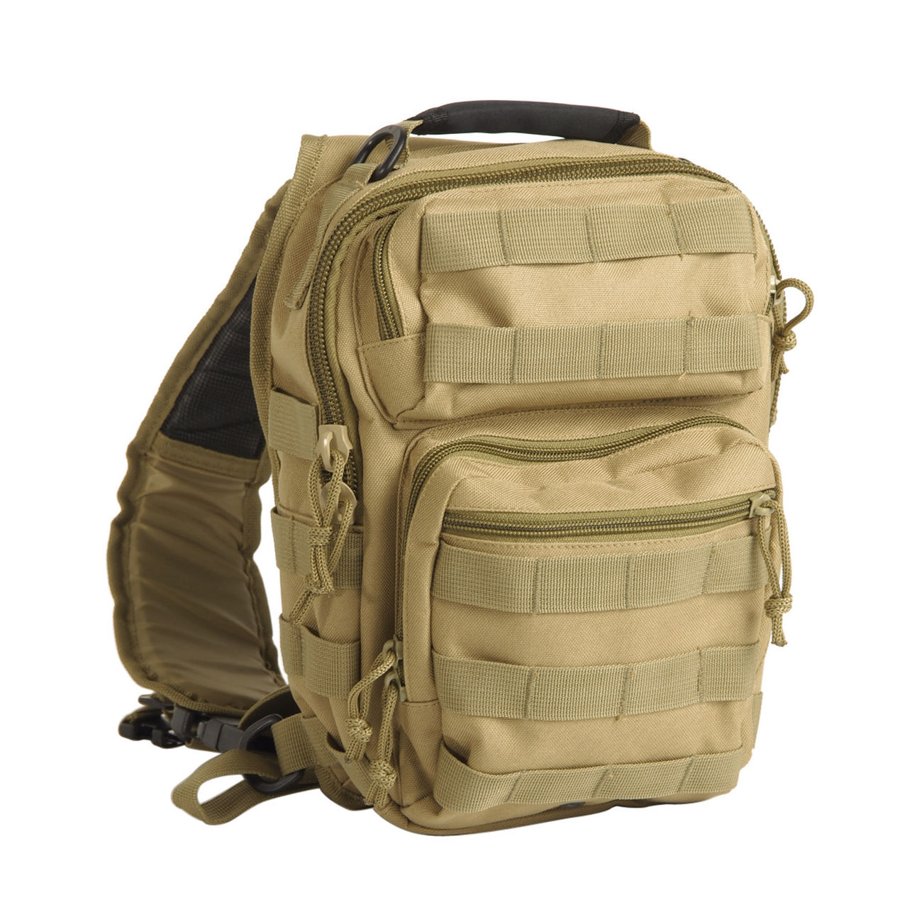 Mil-Tec Rucksack One Strap Assault Pack small 8L coyote 0