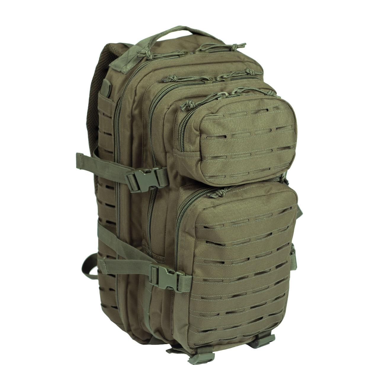 Mil-Tec Rucksack US Assault Pack Laser Cut small 20L oliv 0