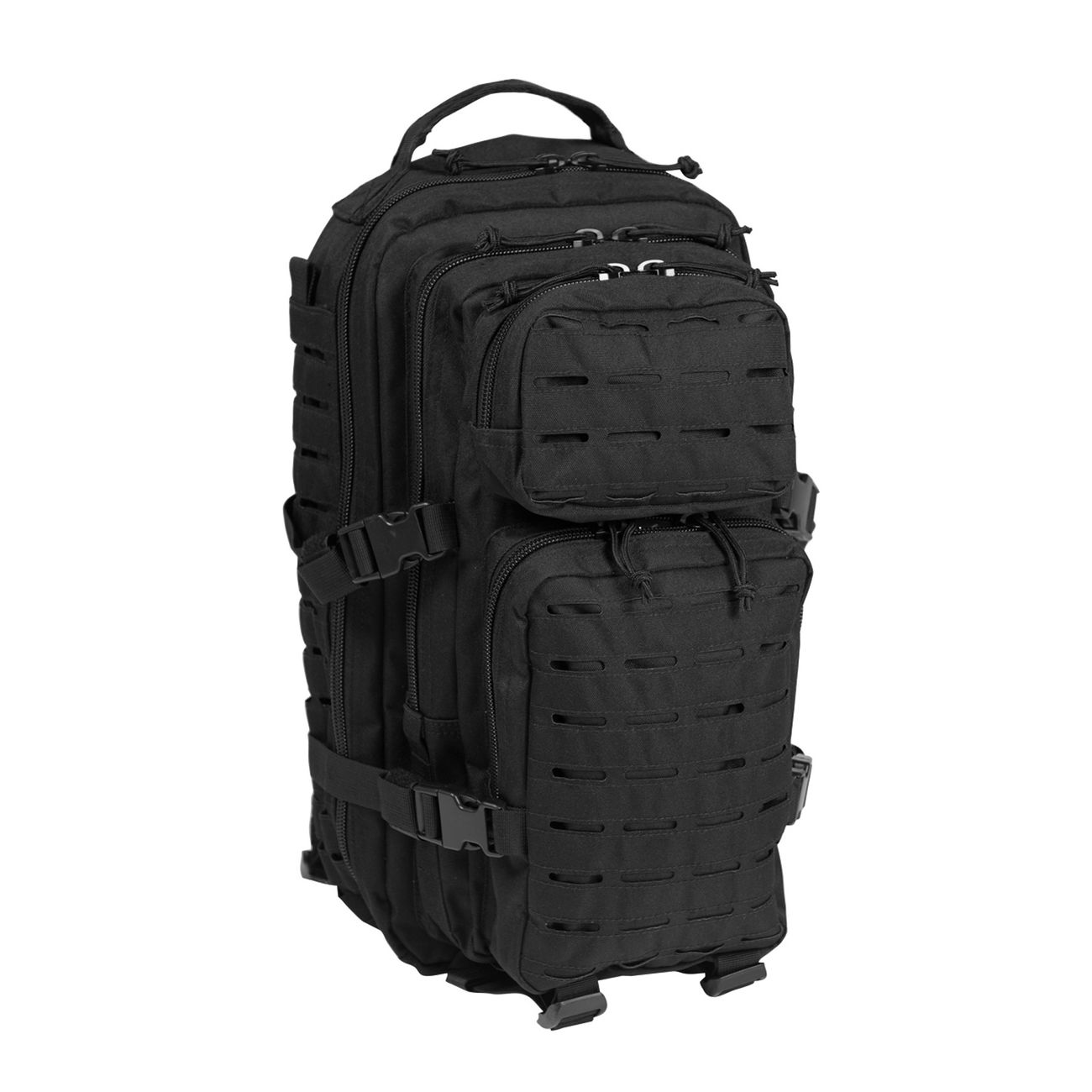 Mil-Tec Rucksack US Assault Pack Laser Cut small 20L schwarz 0
