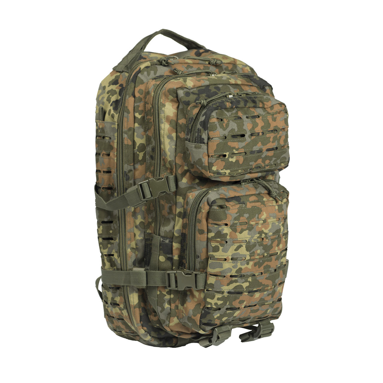 Mil-Tec Rucksack US Assault Pack Laser Cut small 20L flecktarn 0