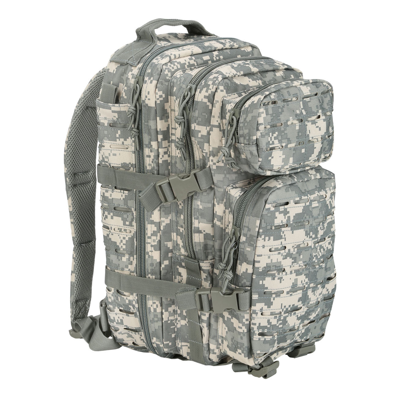1c2c0d56b6334 Mil-Tec Rucksack US Assault Pack Laser Cut small 20L AT-digital ...