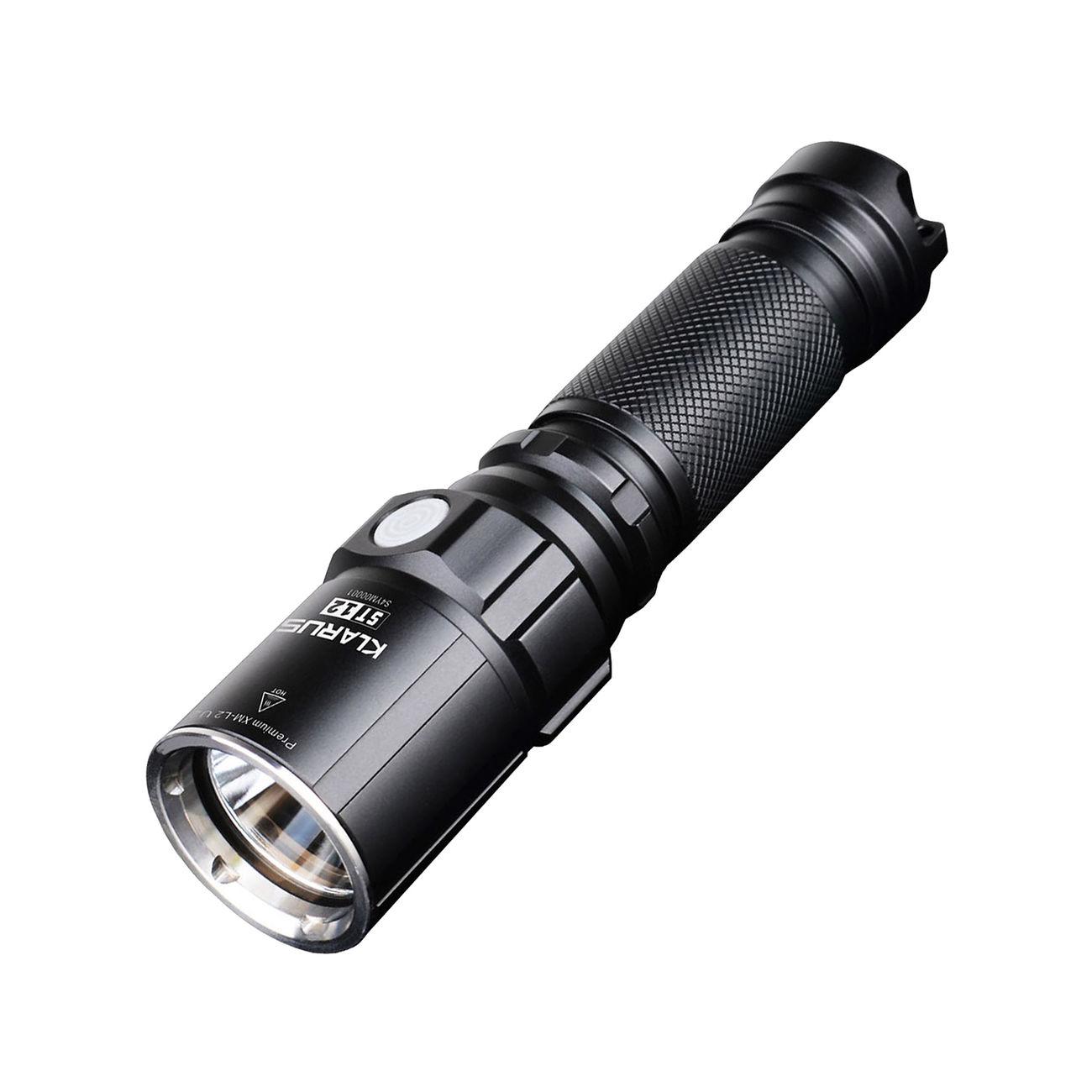 klarus led taschenlampe st12 900 lumen schwarz kotte. Black Bedroom Furniture Sets. Home Design Ideas