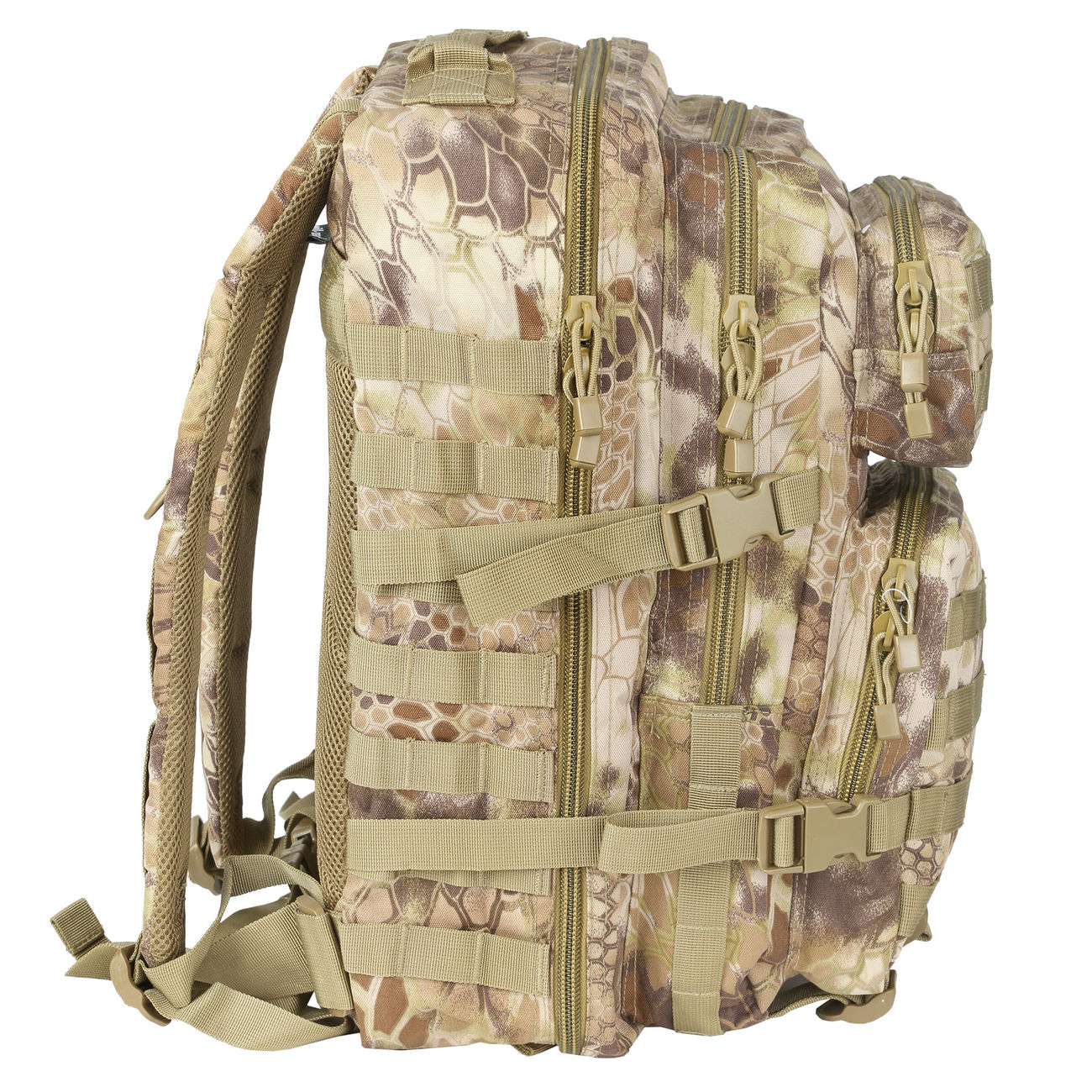 Mil-Tec Rucksack US Assault Pack II 40 Liter mandra tan 1