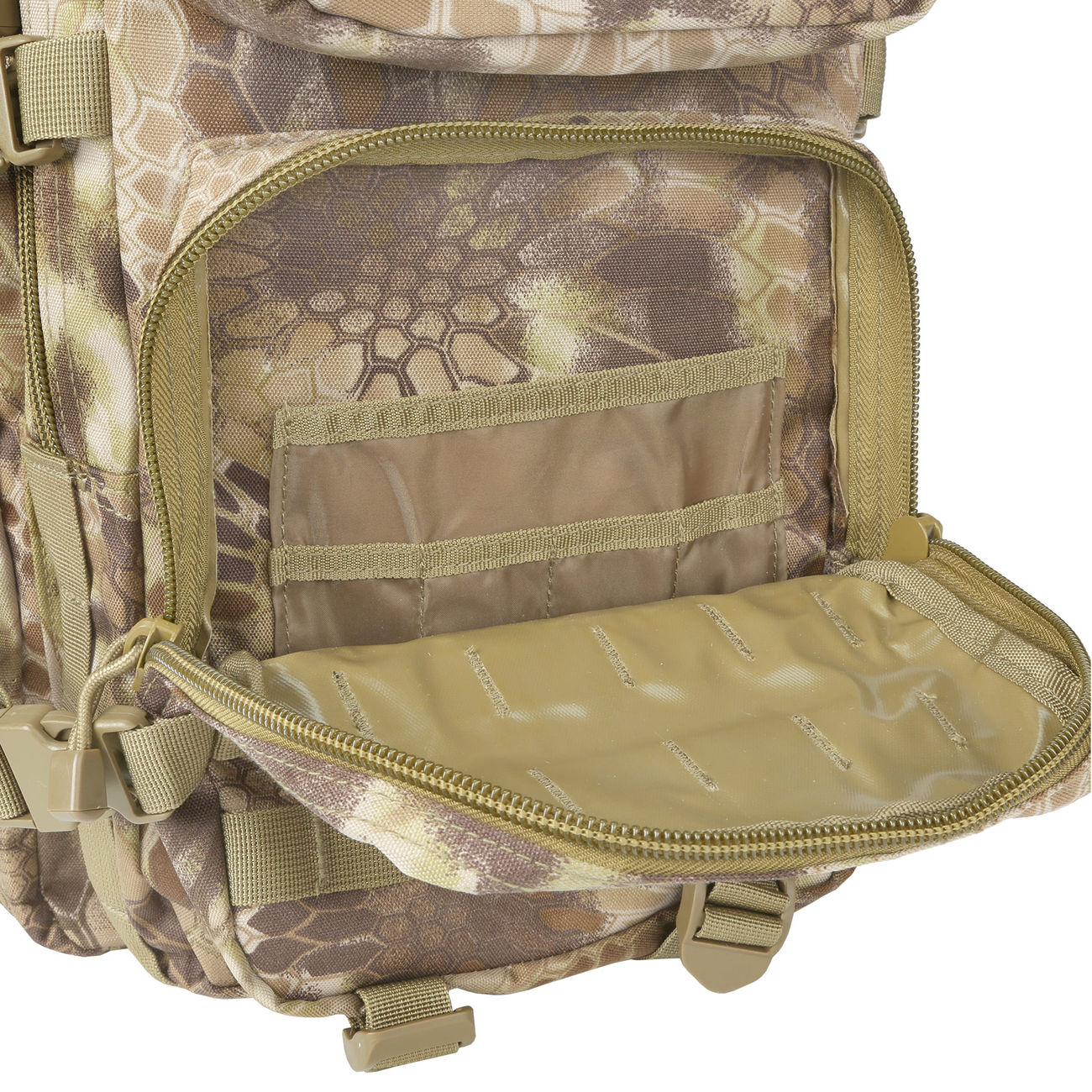 Mil-Tec Rucksack US Assault Pack II 40 Liter mandra tan 11
