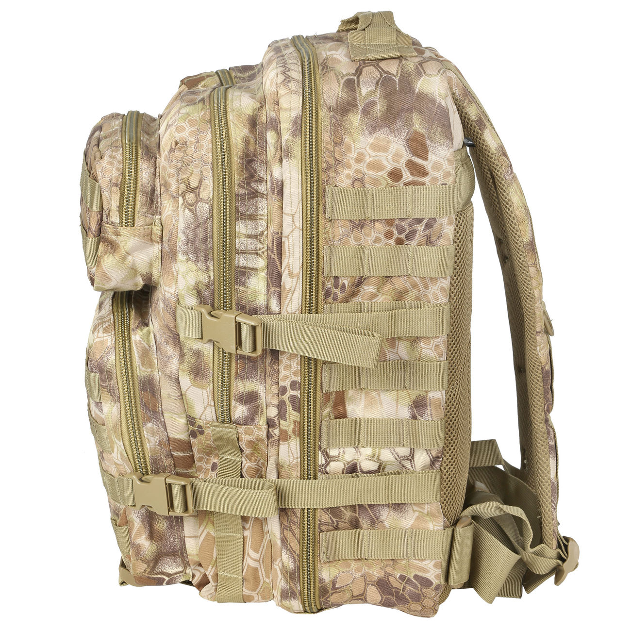 Mil-Tec Rucksack US Assault Pack II 40 Liter mandra tan 2