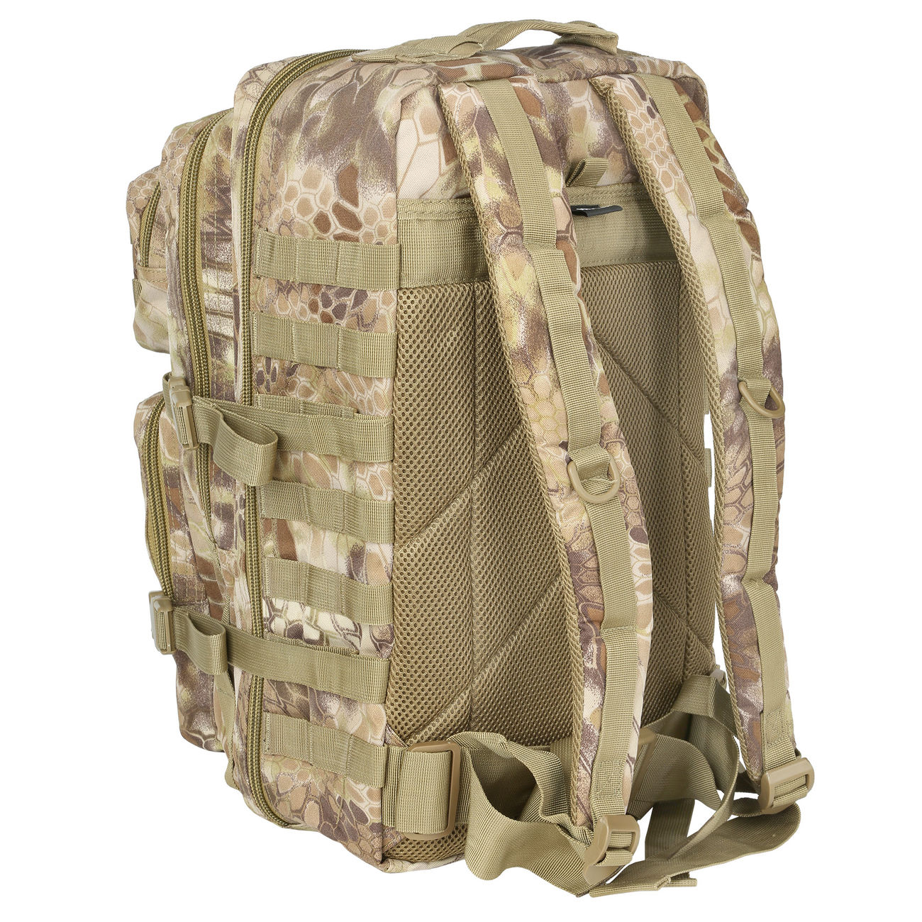 Mil-Tec Rucksack US Assault Pack II 40 Liter mandra tan 3