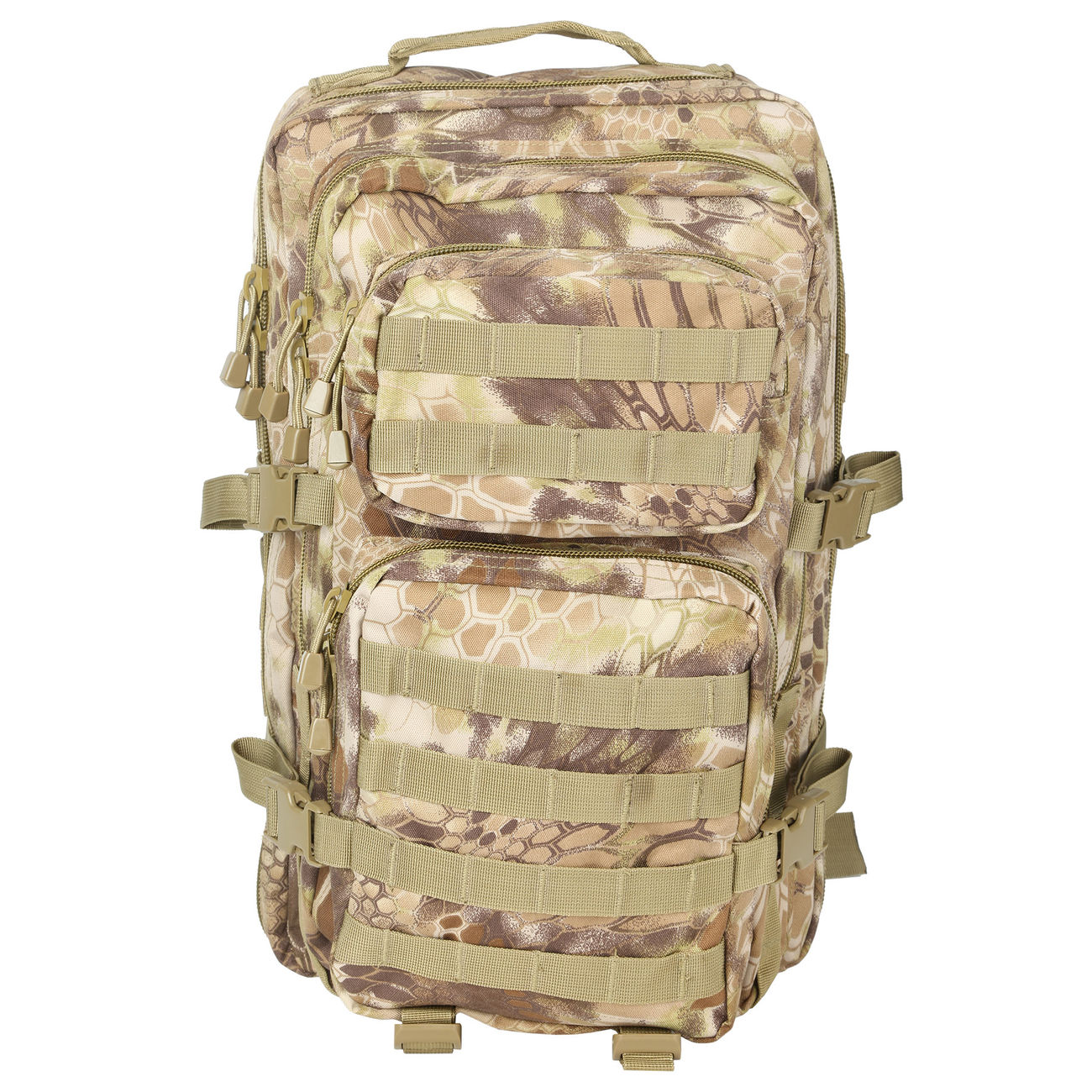 Mil-Tec Rucksack US Assault Pack II 40 Liter mandra tan 6
