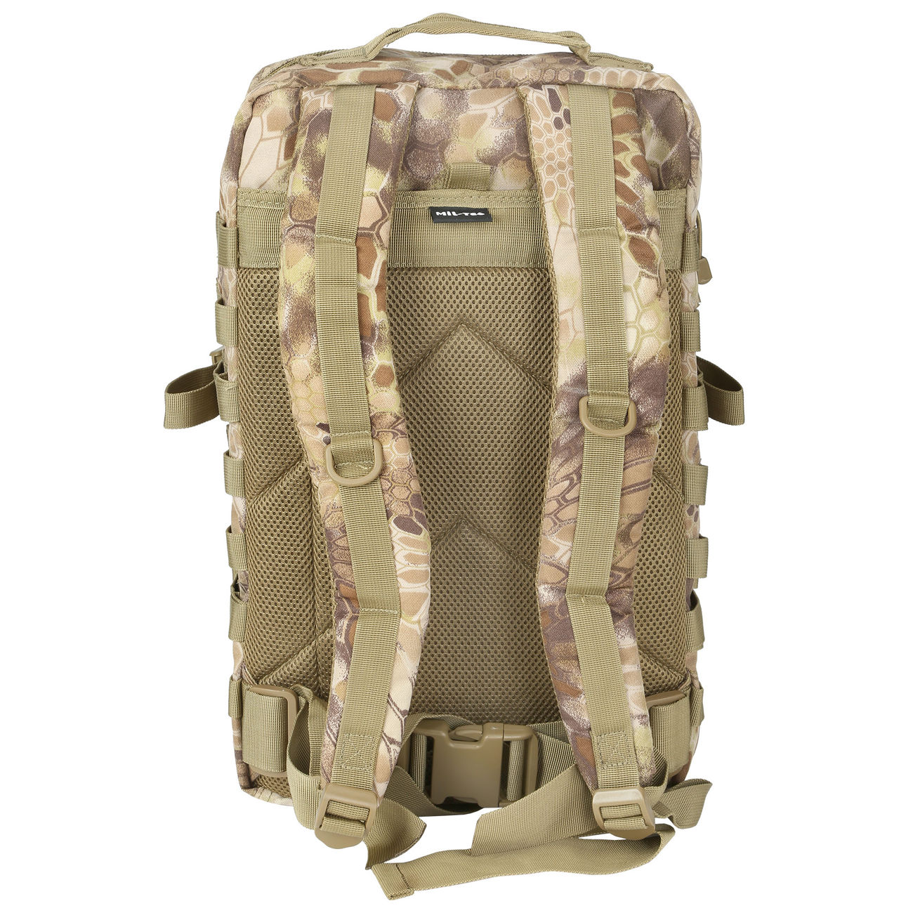 Mil-Tec Rucksack US Assault Pack II 40 Liter mandra tan 7