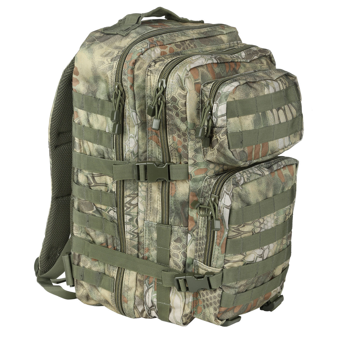 Mil-Tec Rucksack US Assault Pack II 40 Liter mandra wood 0