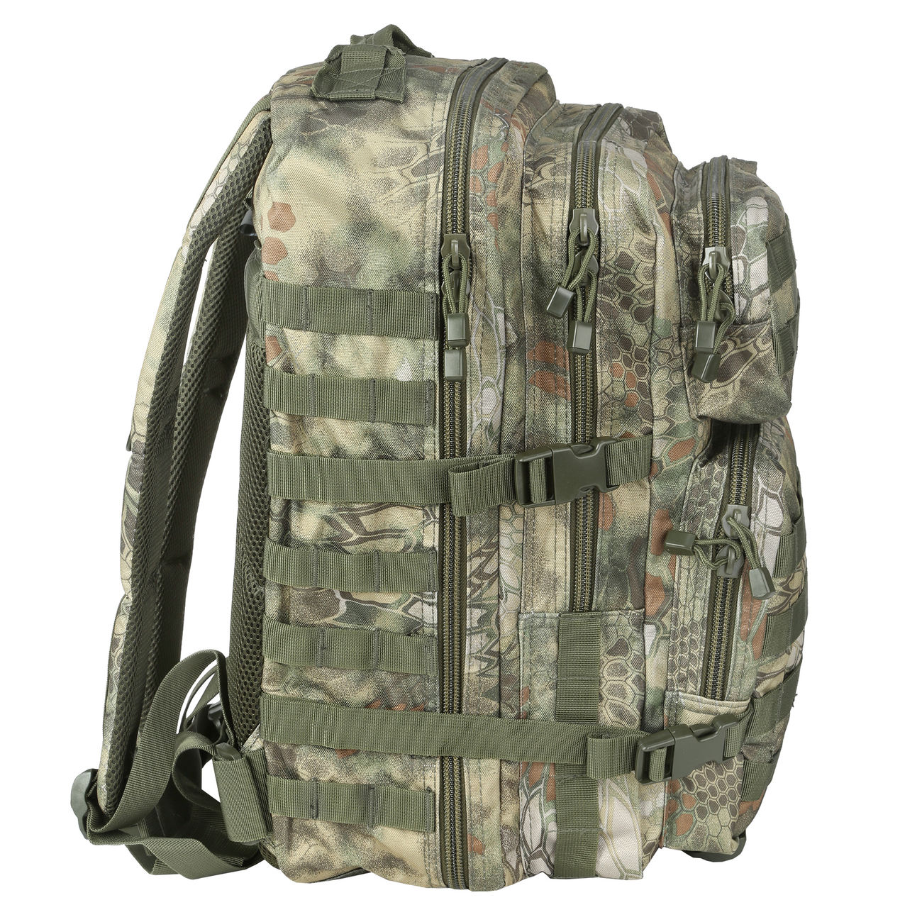 Mil-Tec Rucksack US Assault Pack II 40 Liter mandra wood 1