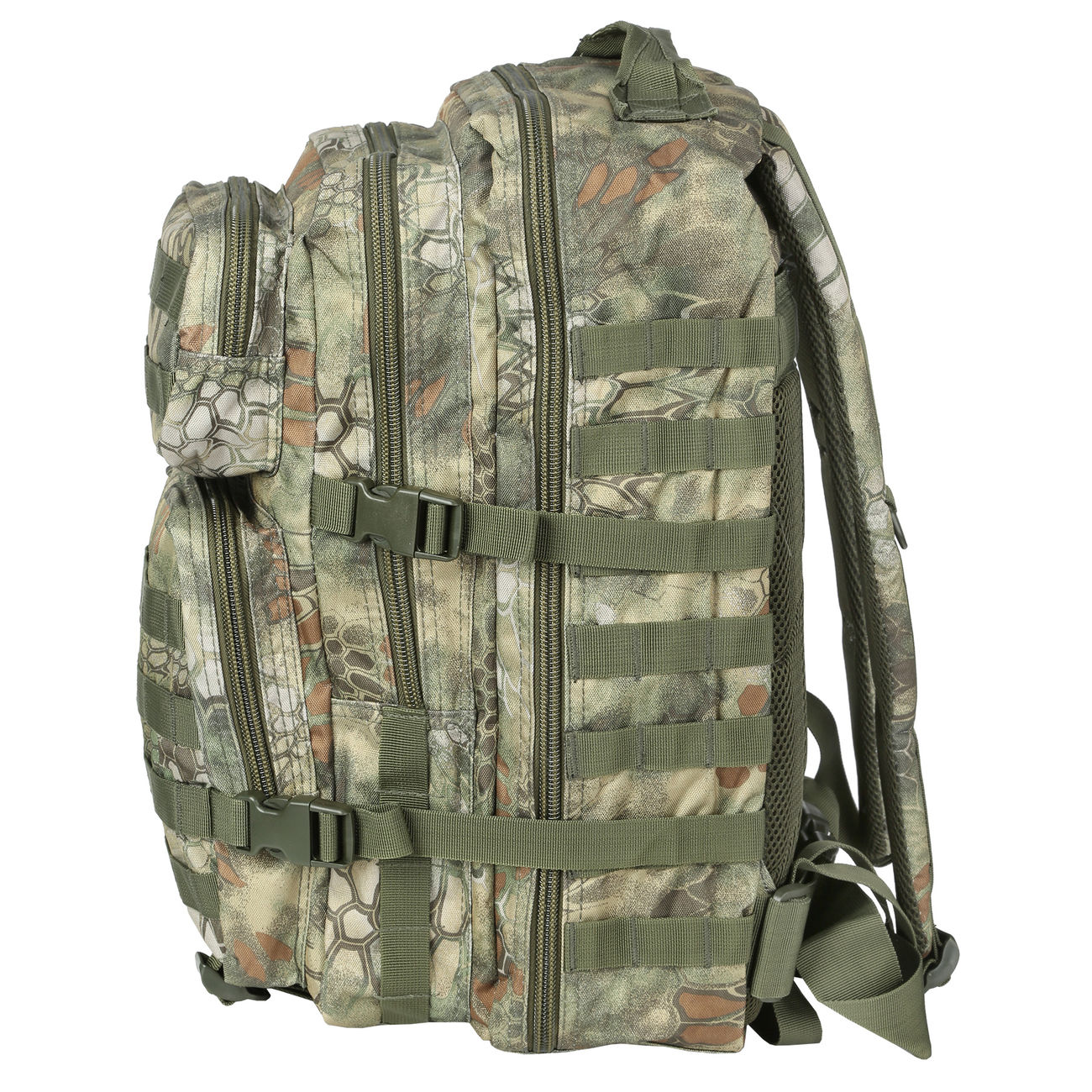 Mil-Tec Rucksack US Assault Pack II 40 Liter mandra wood 2