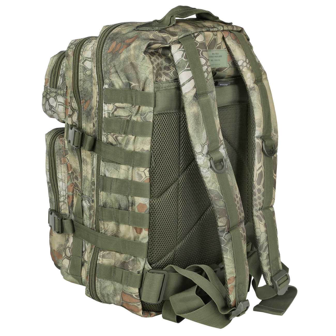 Mil-Tec Rucksack US Assault Pack II 40 Liter mandra wood 3