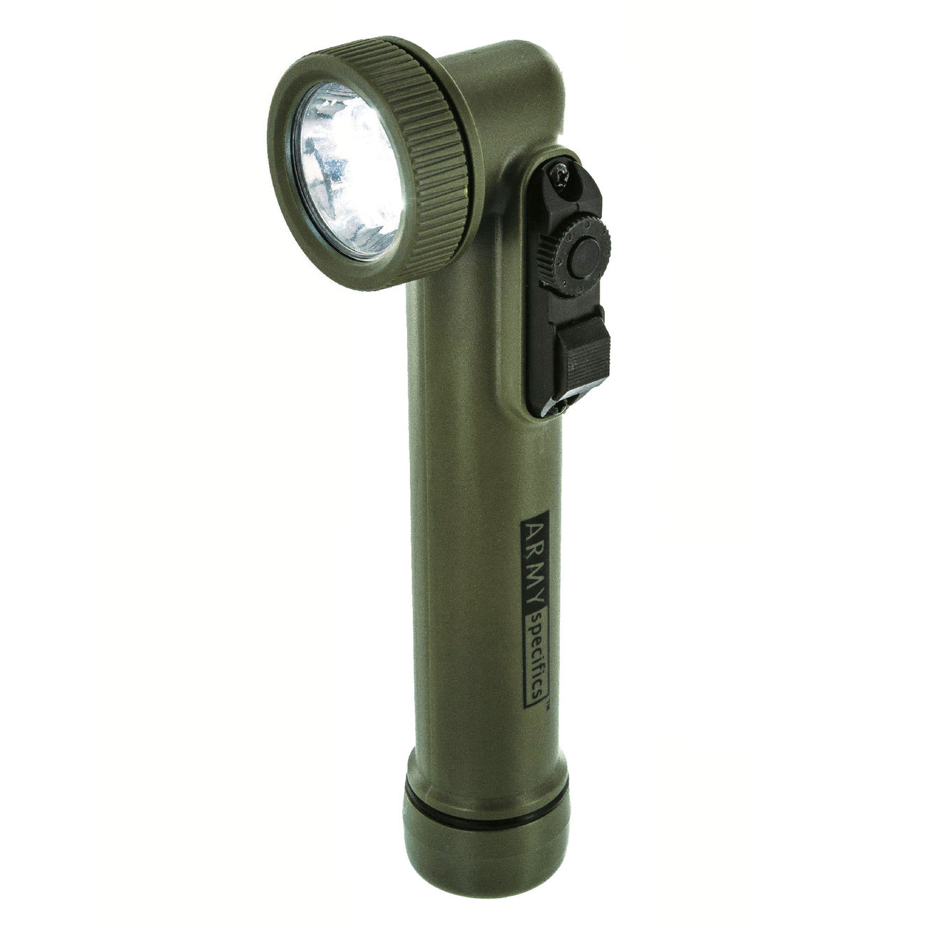 Highlander LED Winkelstablampe G.I. Flashlight Torch 30 Lumen oliv 0